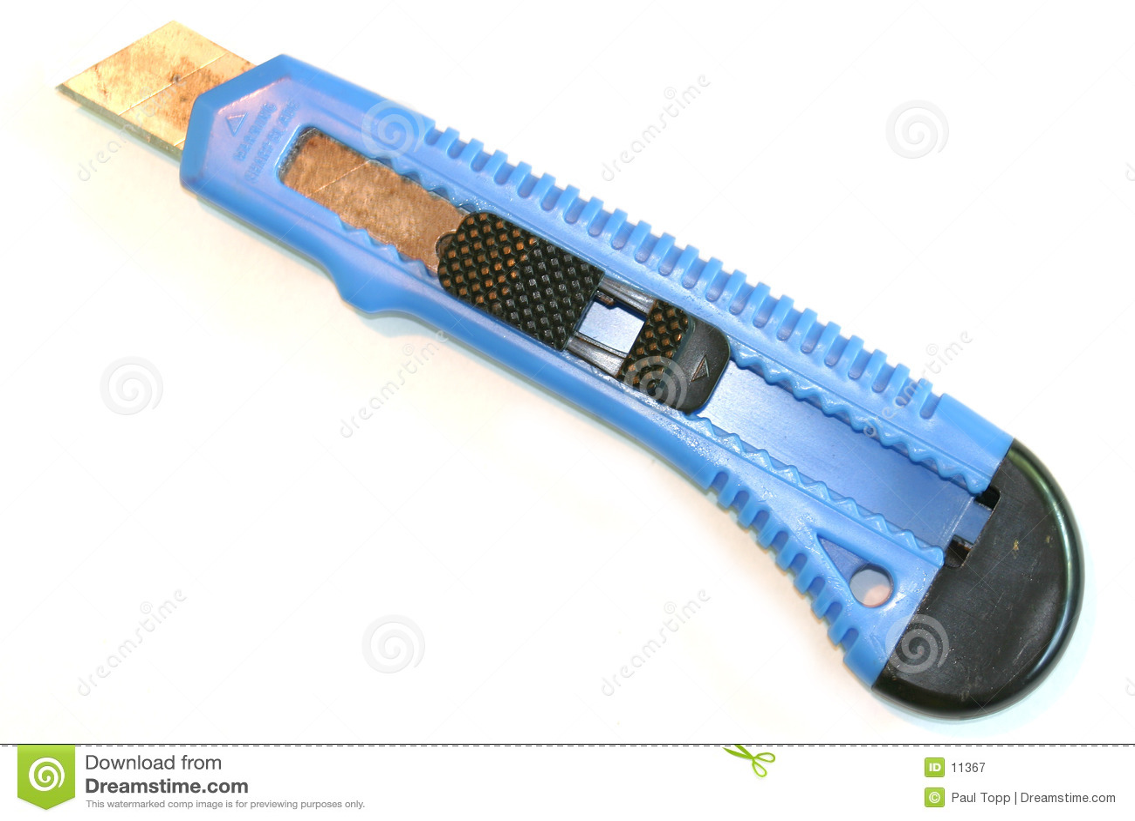 Skärare för blå ask