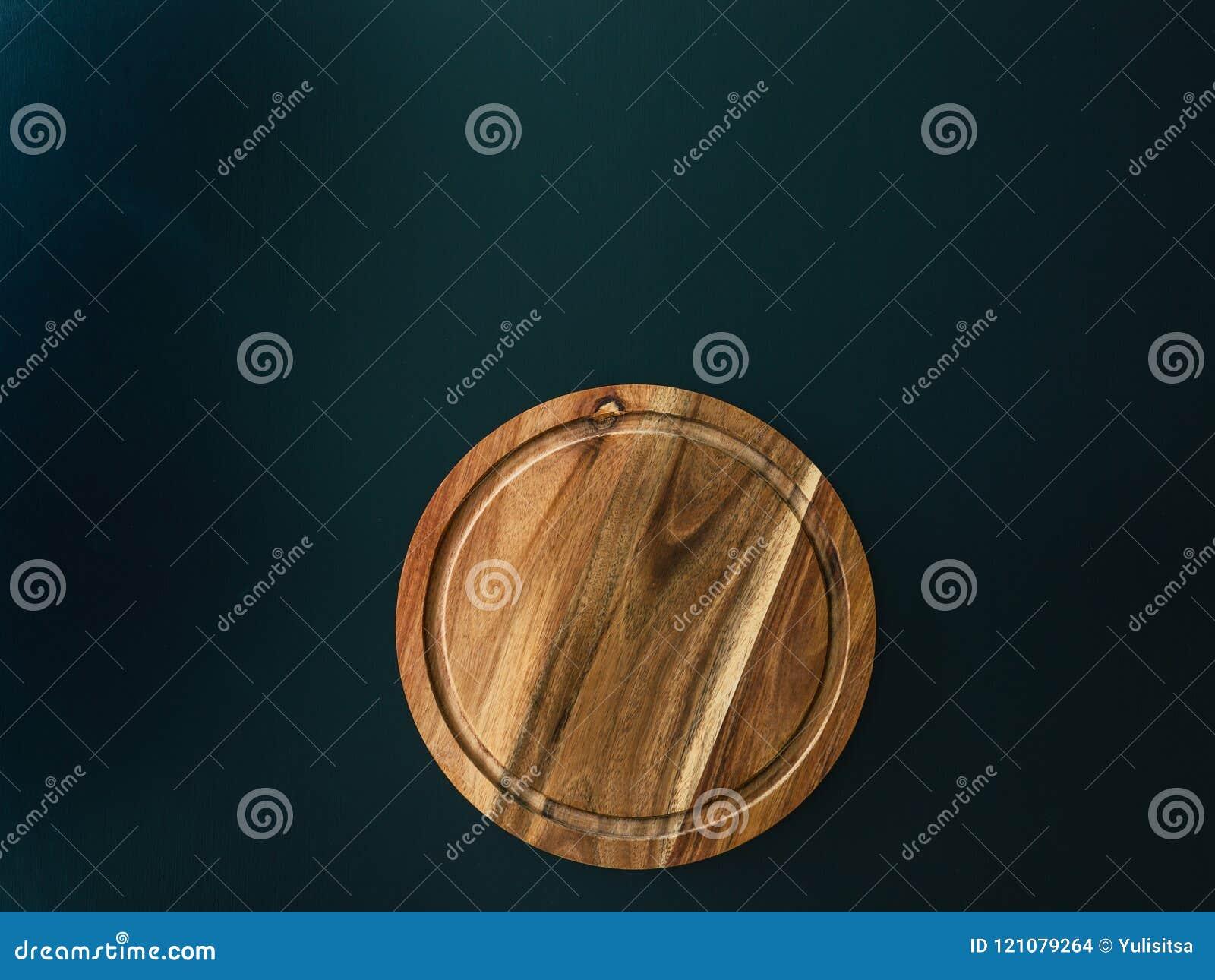 Skärbräda för runt trä