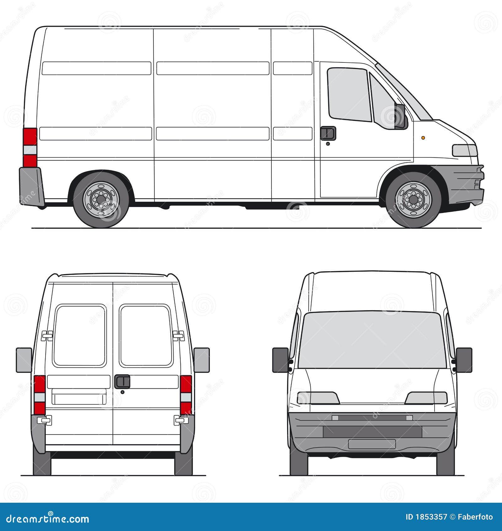 Skåpbil vektor
