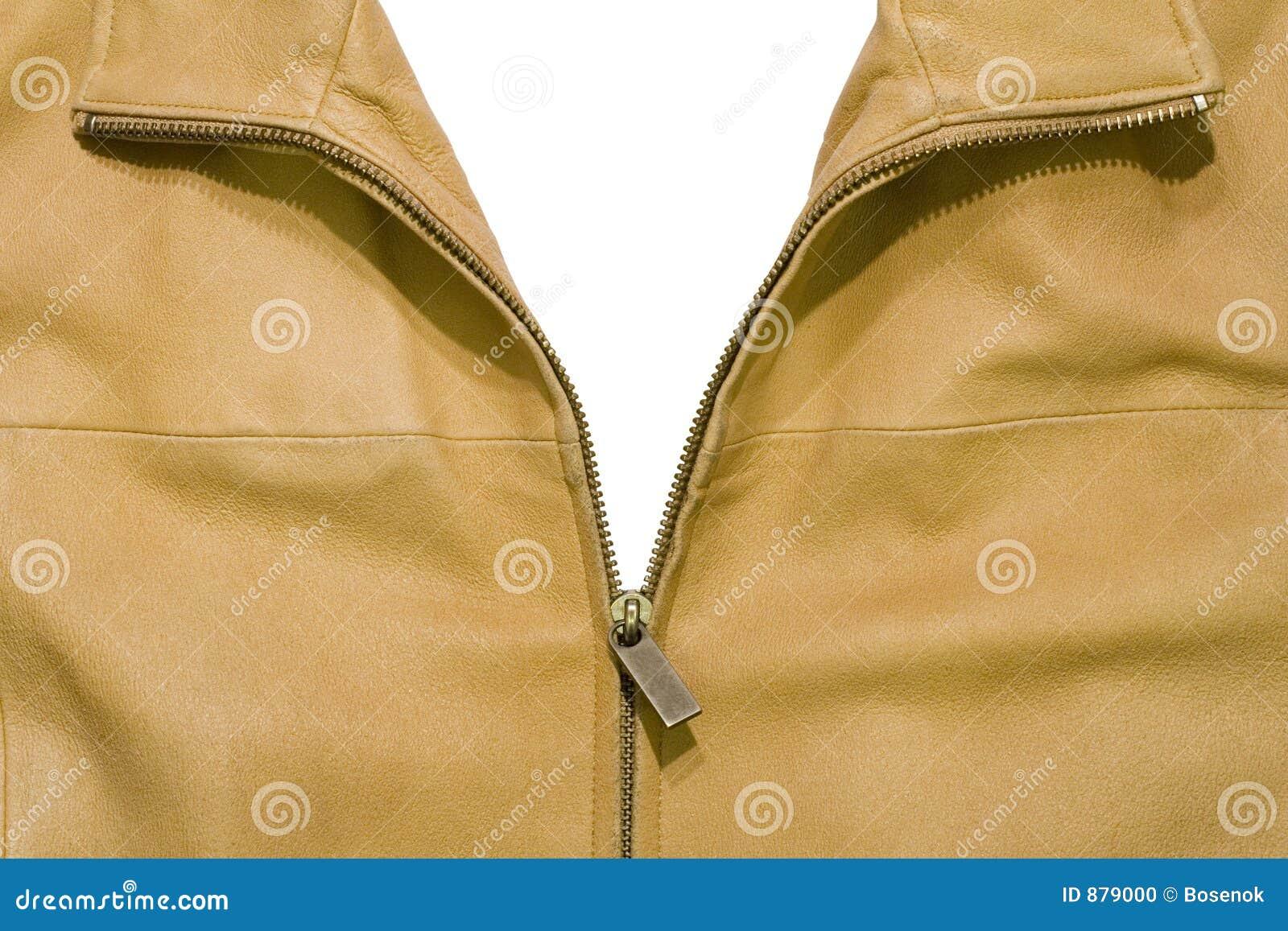 Skóra kurtki otwarta