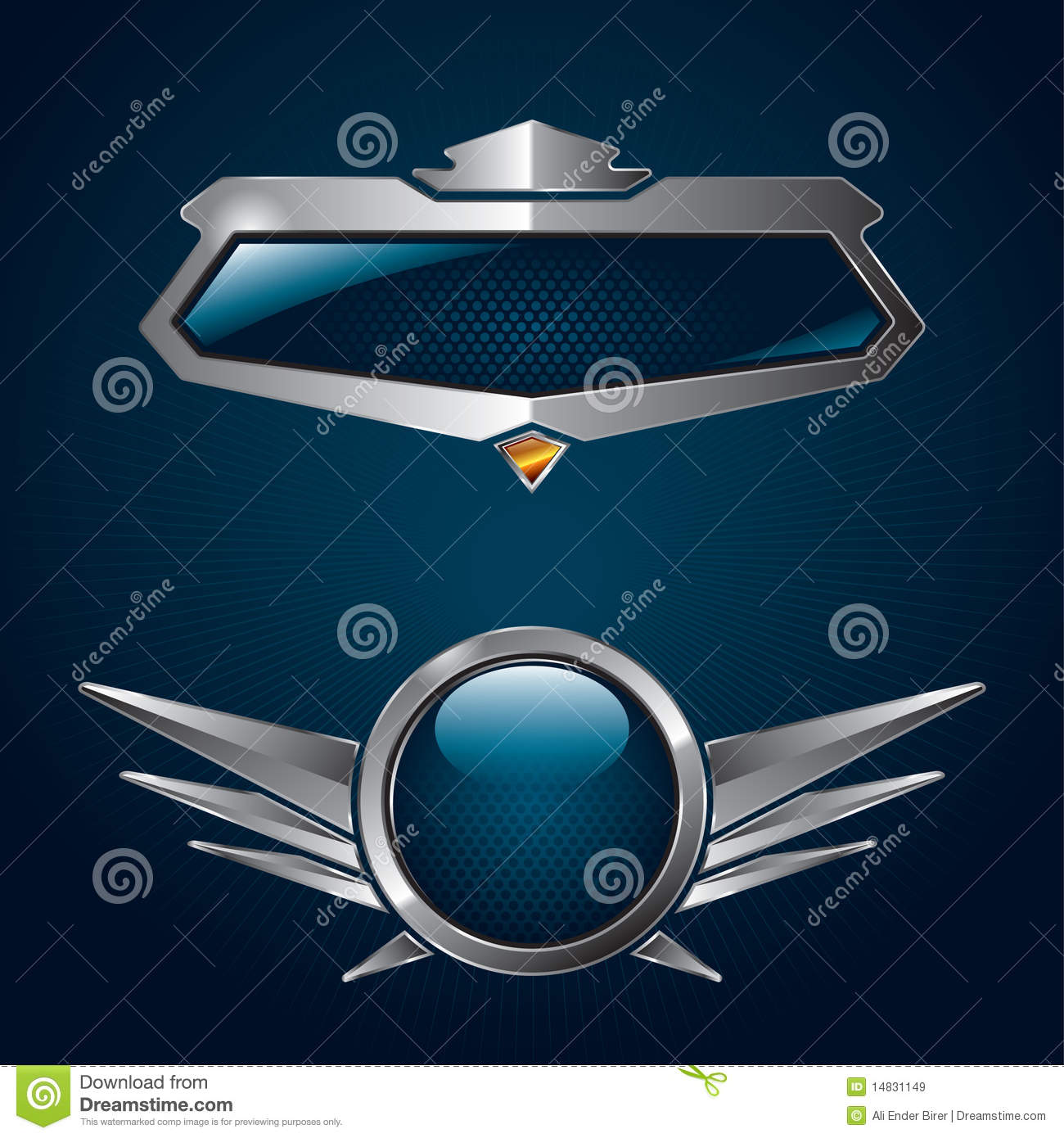 Shield design set royalty free stock photos image 5051988 - Sk Ldar Royaltyfria Bilder