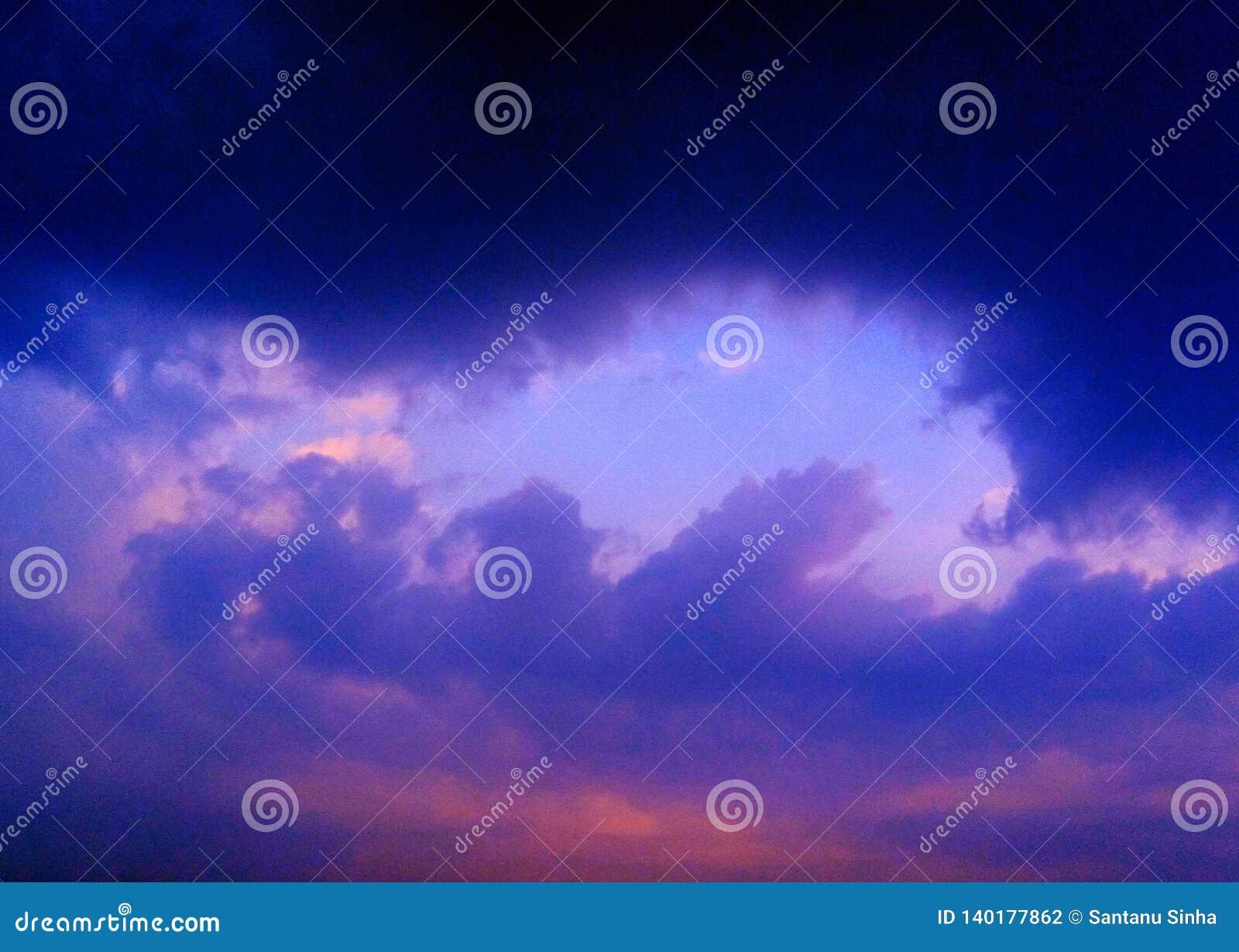 Skönhet av himmel