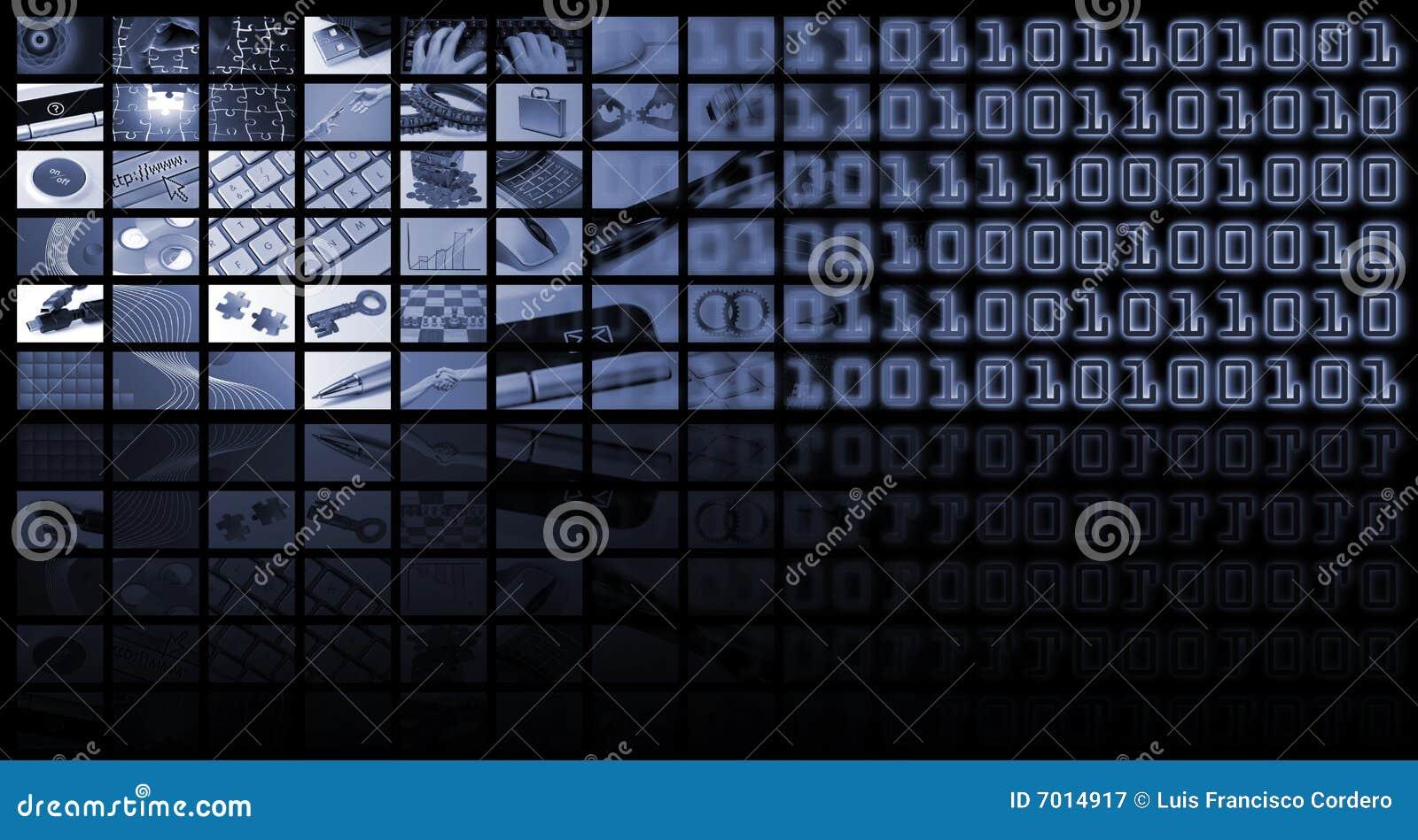 Skład biznesowa technologia