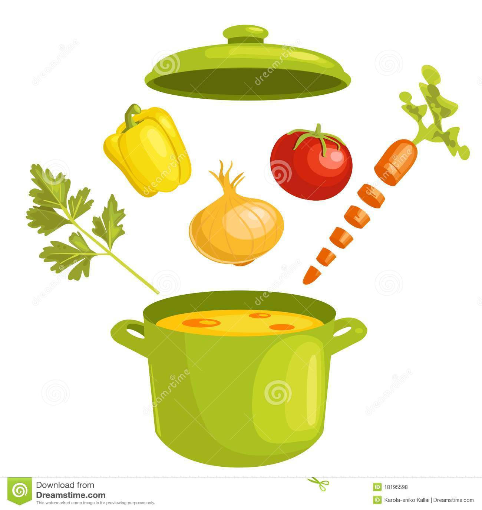 Składników polewki warzywo