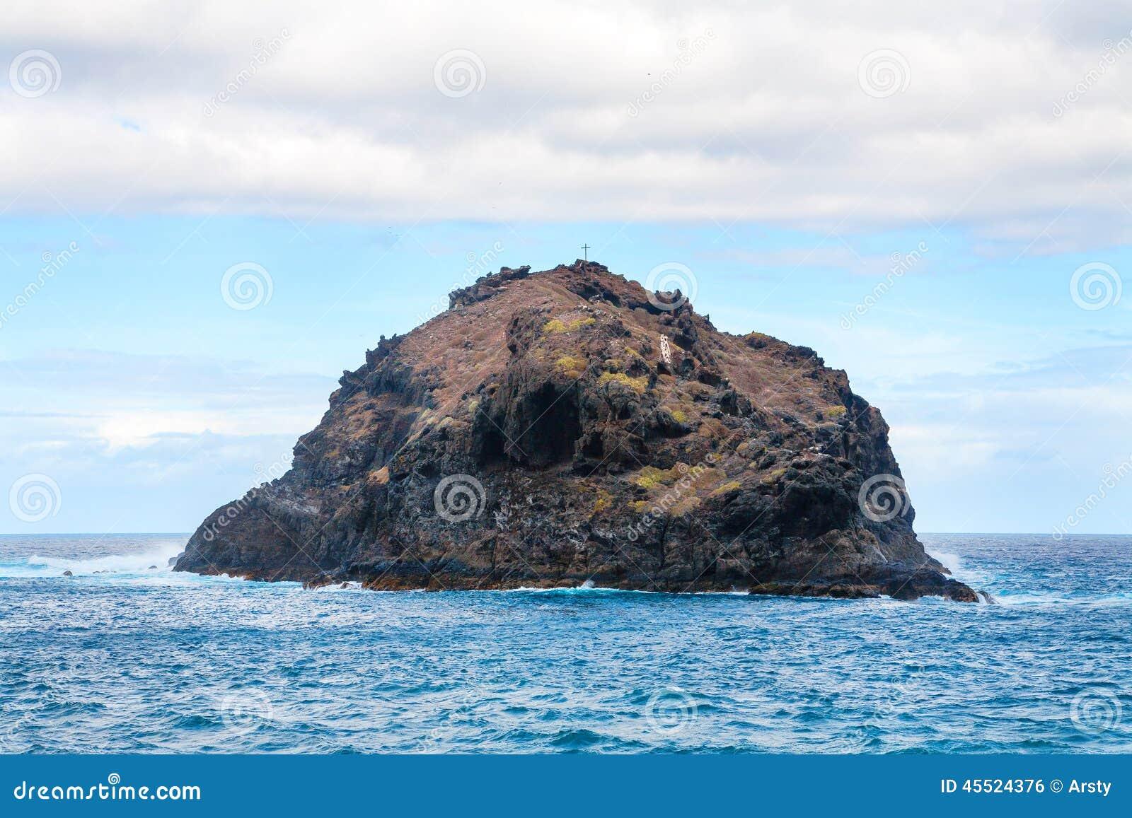 Skała Garachico wyspa kanaryjska Spain Tenerife