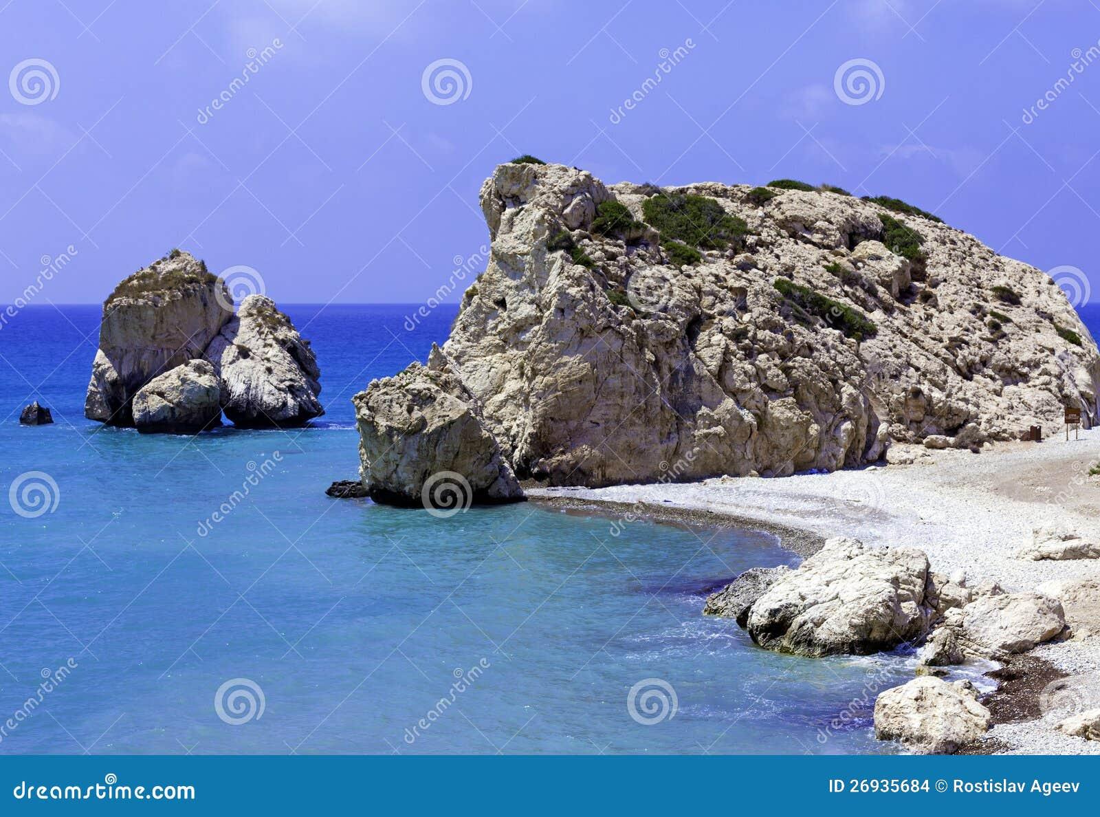 Skały Aphrodite, Paphos, Cypr