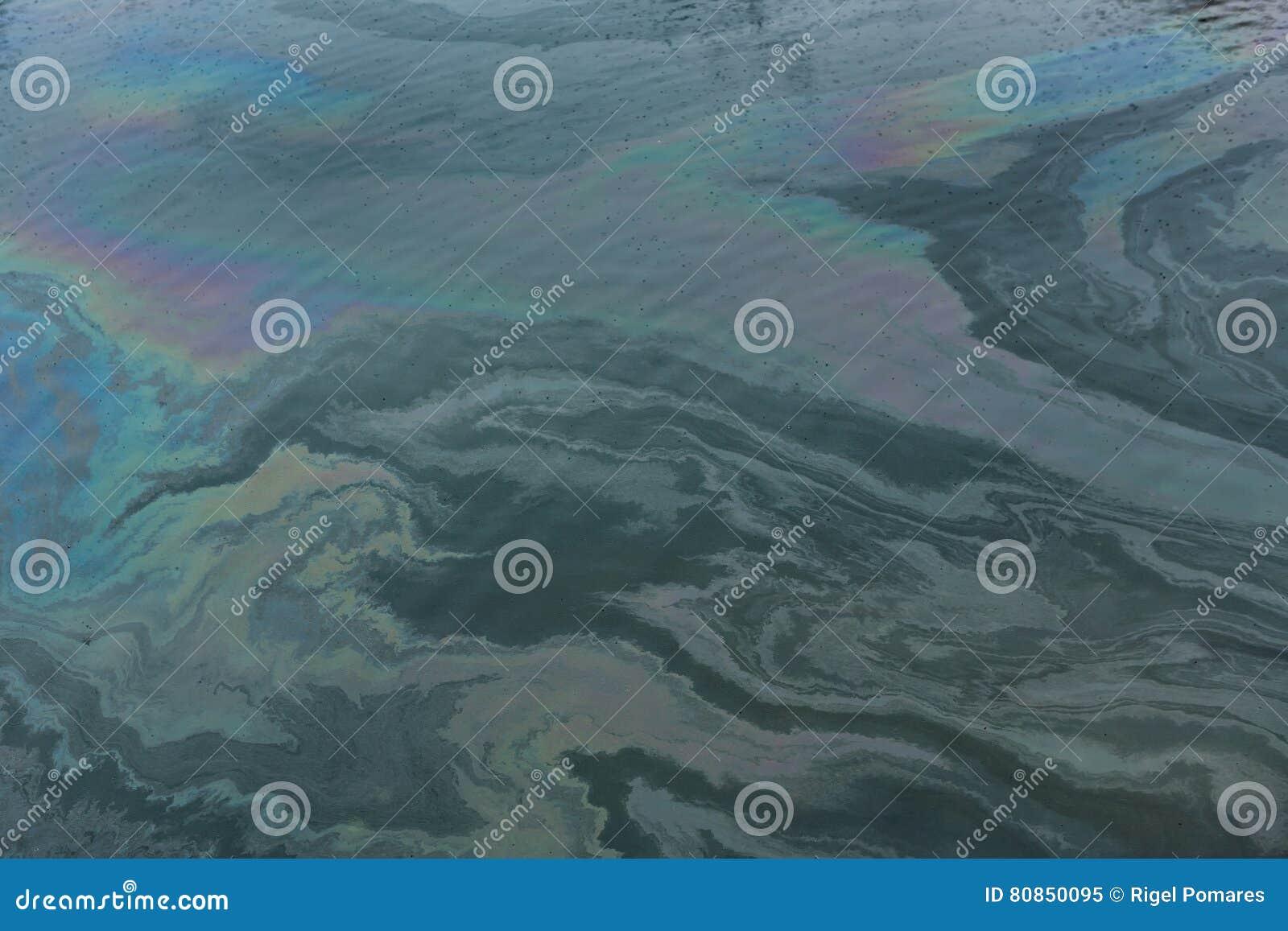 Skażenie wody w molu powodować olejem
