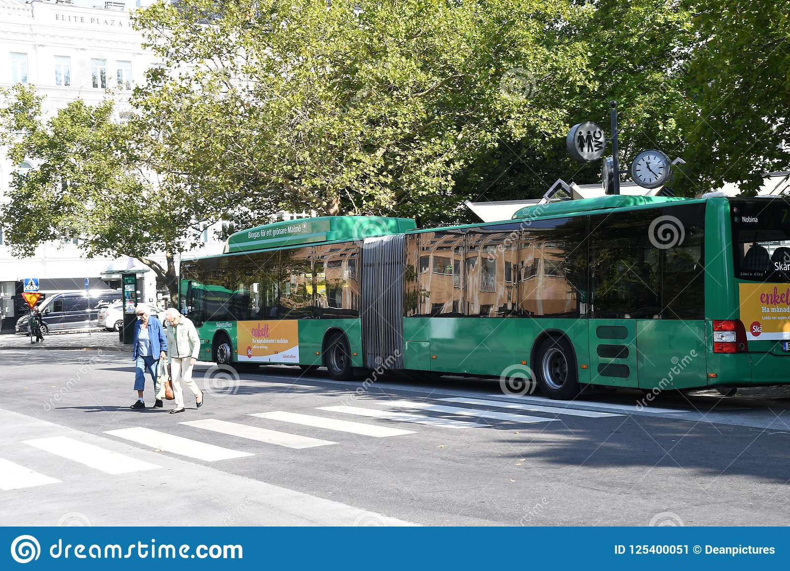 SKAANE BUS TRANSPORTATION IN MALM  Editorial Photo - Image of