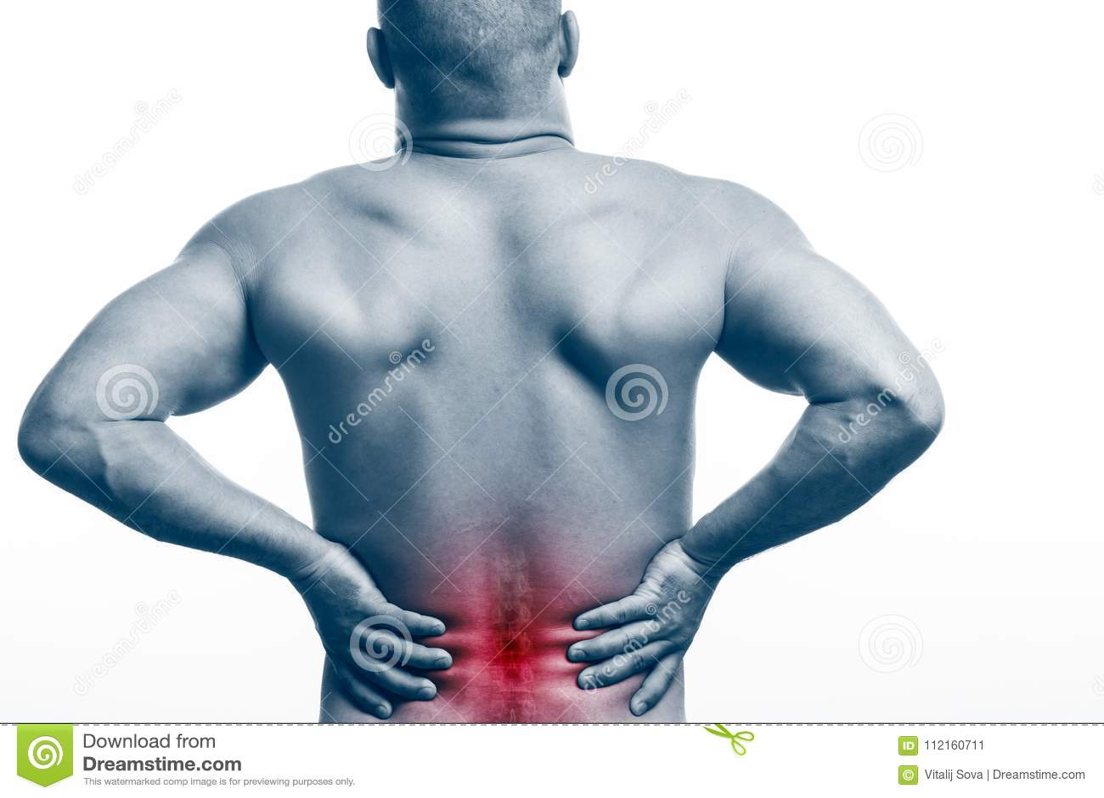 Skada av ryggen