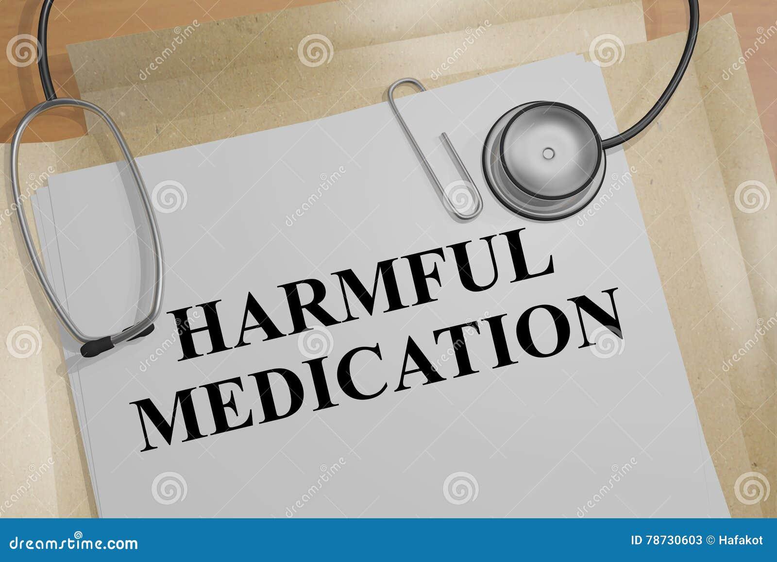 Skadligt läkarbehandlingbegrepp