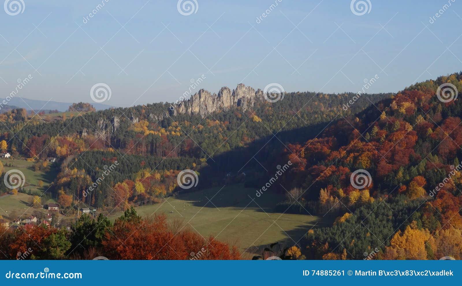 Skala de Mala, paraíso boêmio, república checa