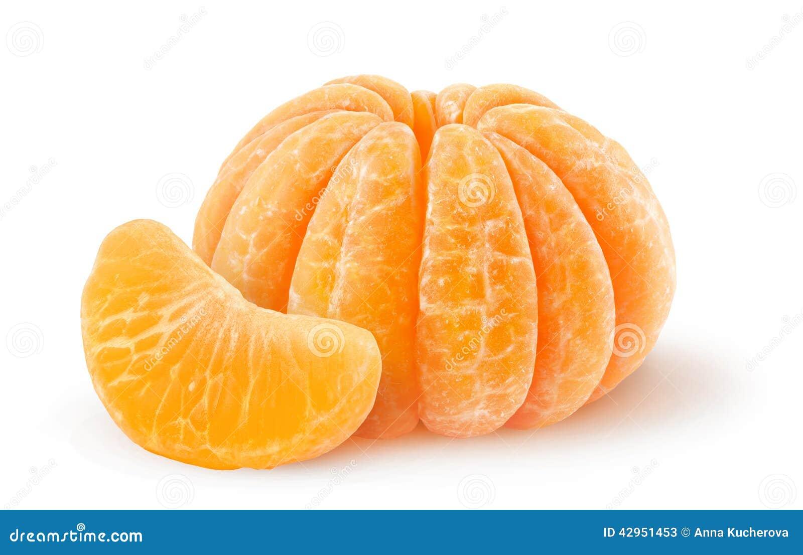 Skalad tangerine