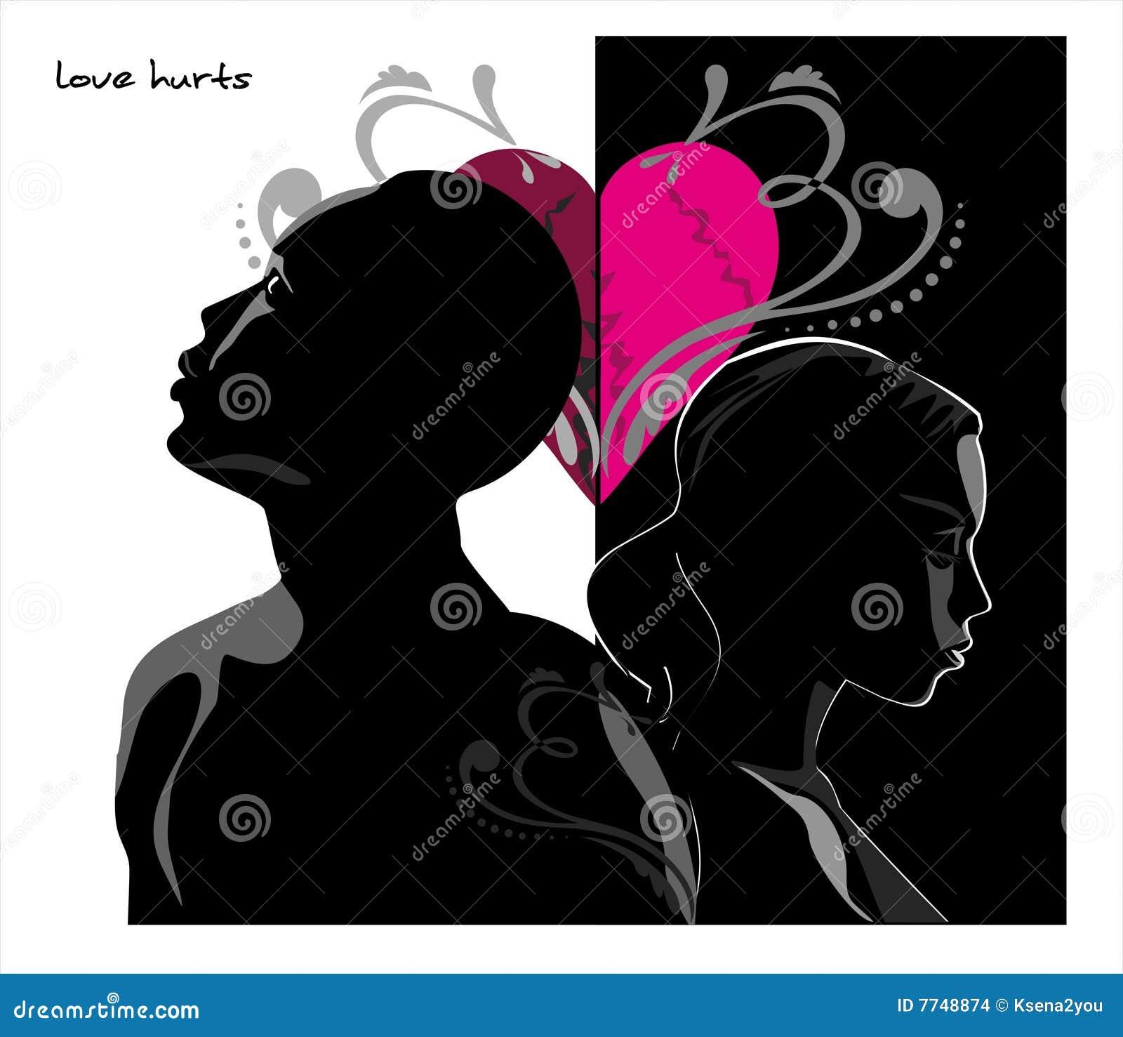 Skaleczenie miłość