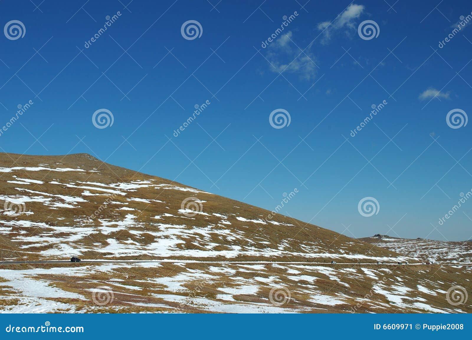 Skalisty napędowy halny park narodowy
