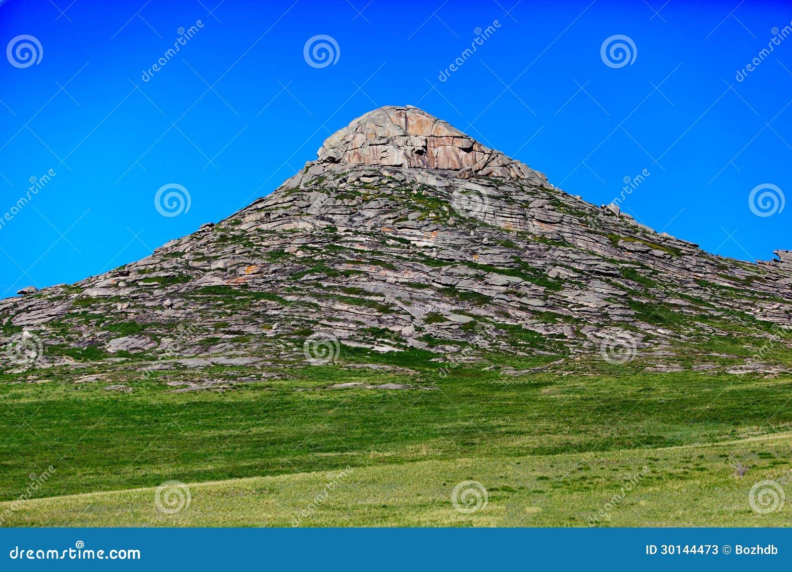 Skalisty wzgórze