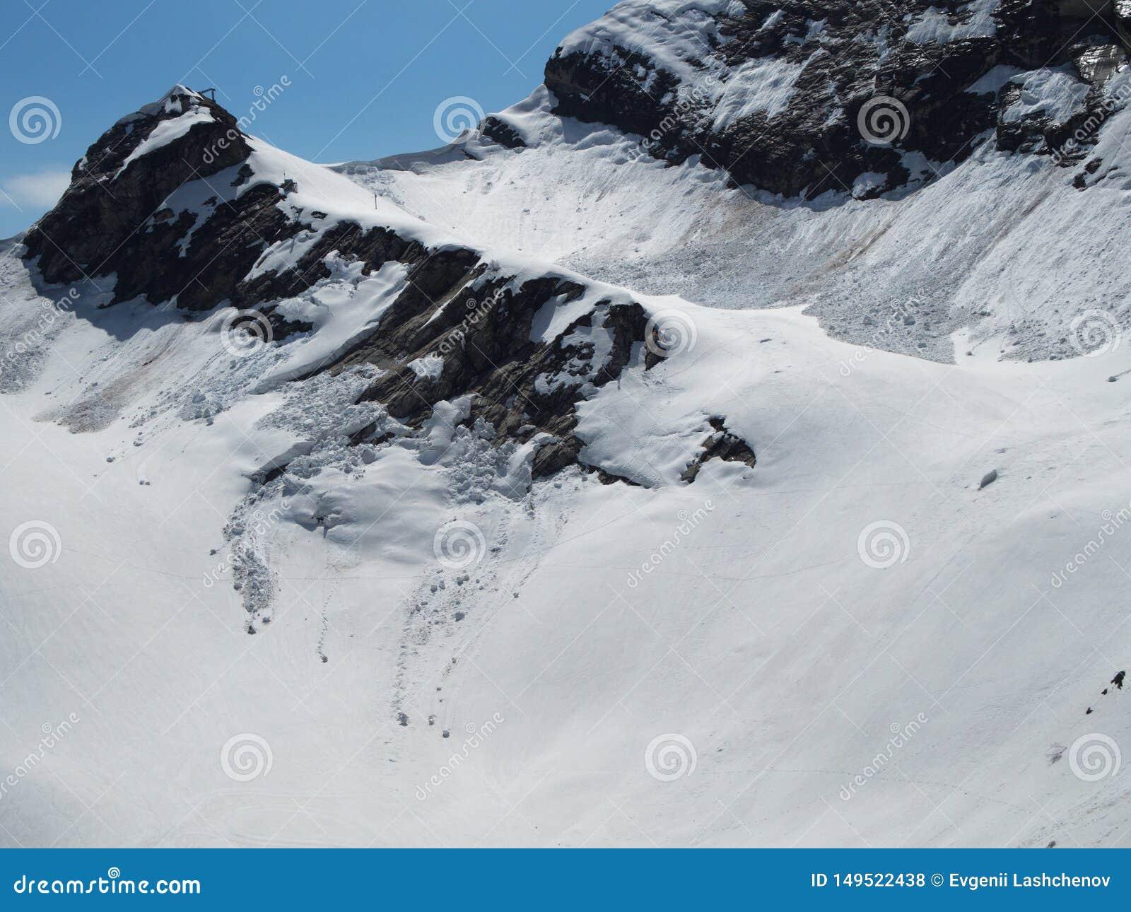 Skalistych g?r o?rodek narciarski Gorky Rosja Sochi 05 11 2019