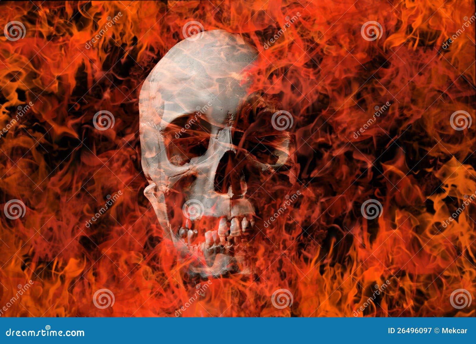 Skalle och brand