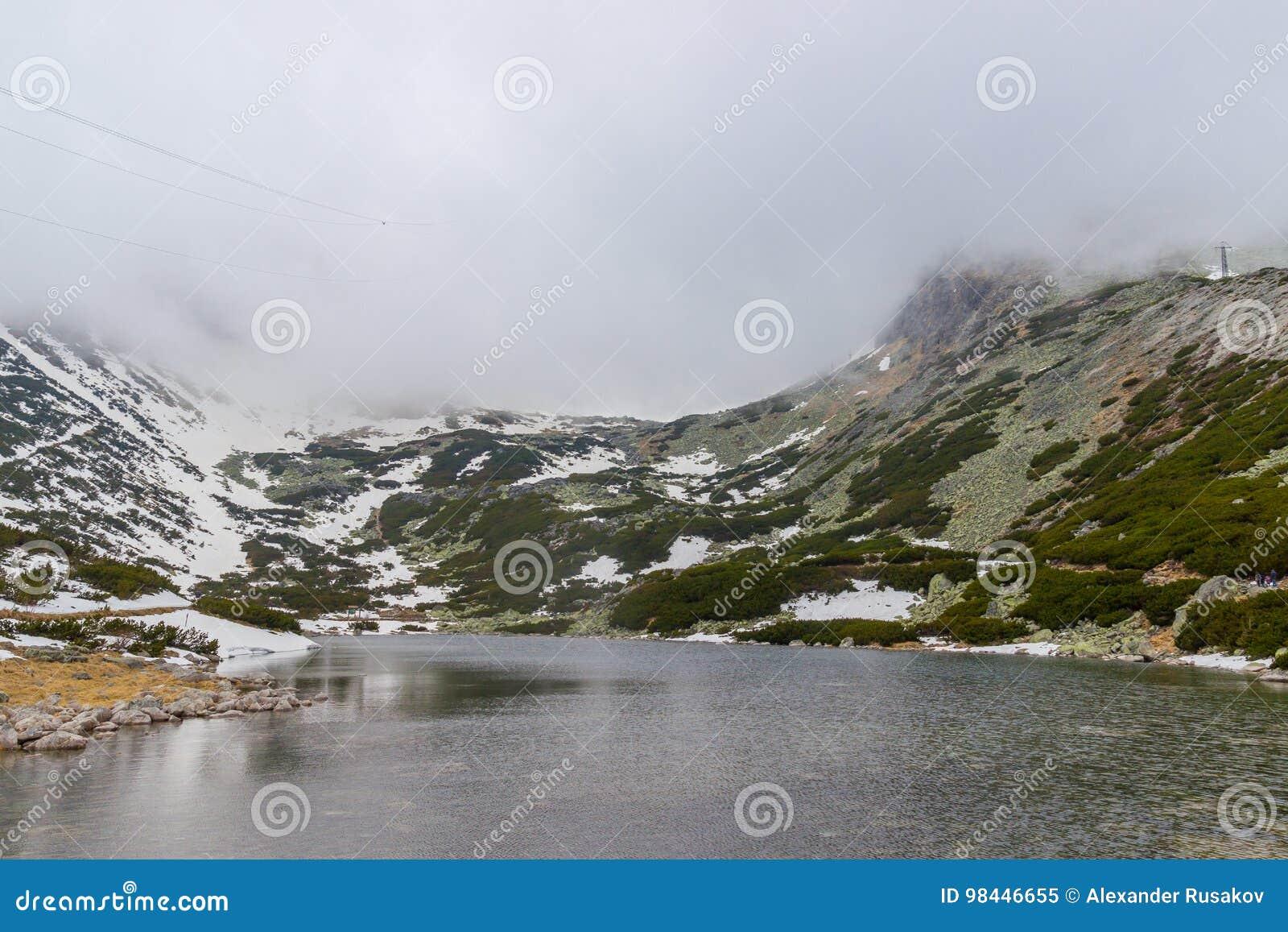 Skalnate pleso山湖 斯洛伐克
