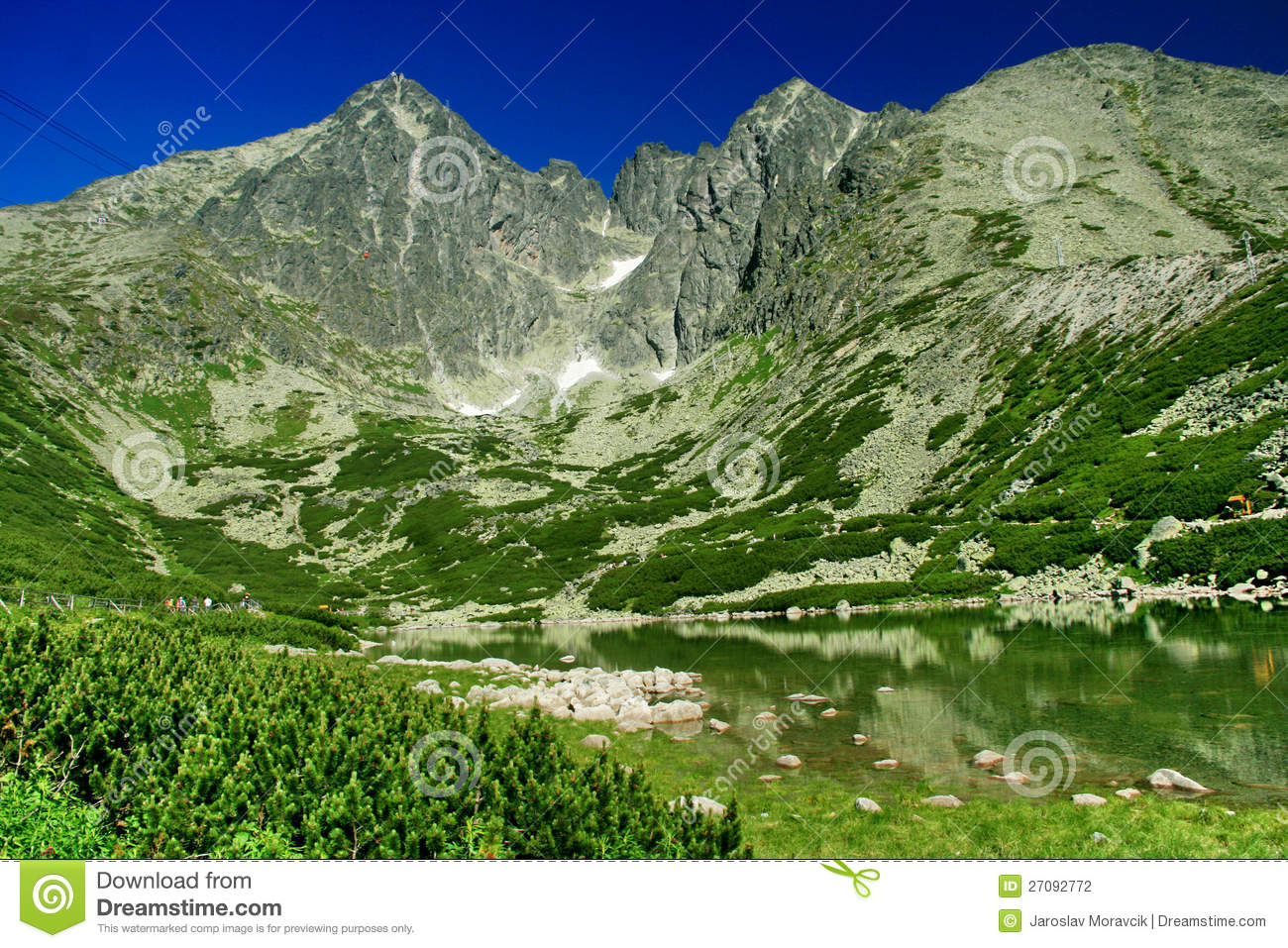 Skalnate Pleso, High Tatras Stock Photography - Image ...