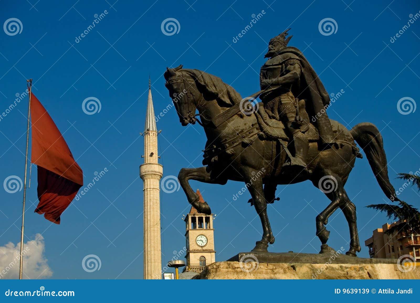 Skanderbeg, Tirana, Albania