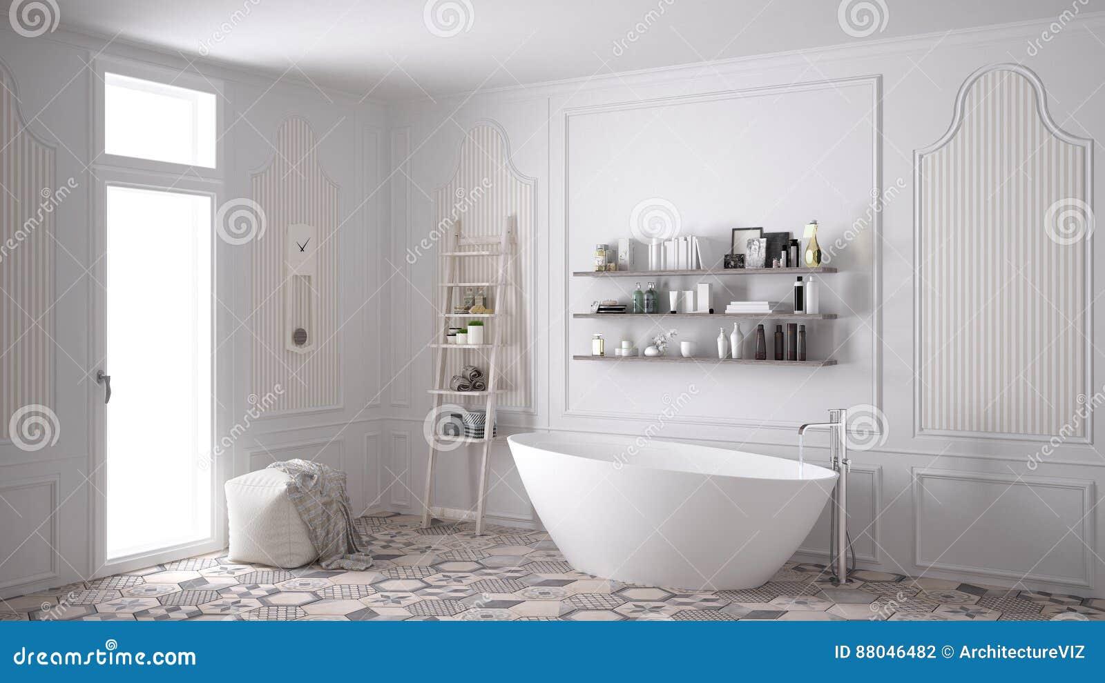Skandinavisches badezimmer innenarchitektur der - Innenarchitektur badezimmer ...