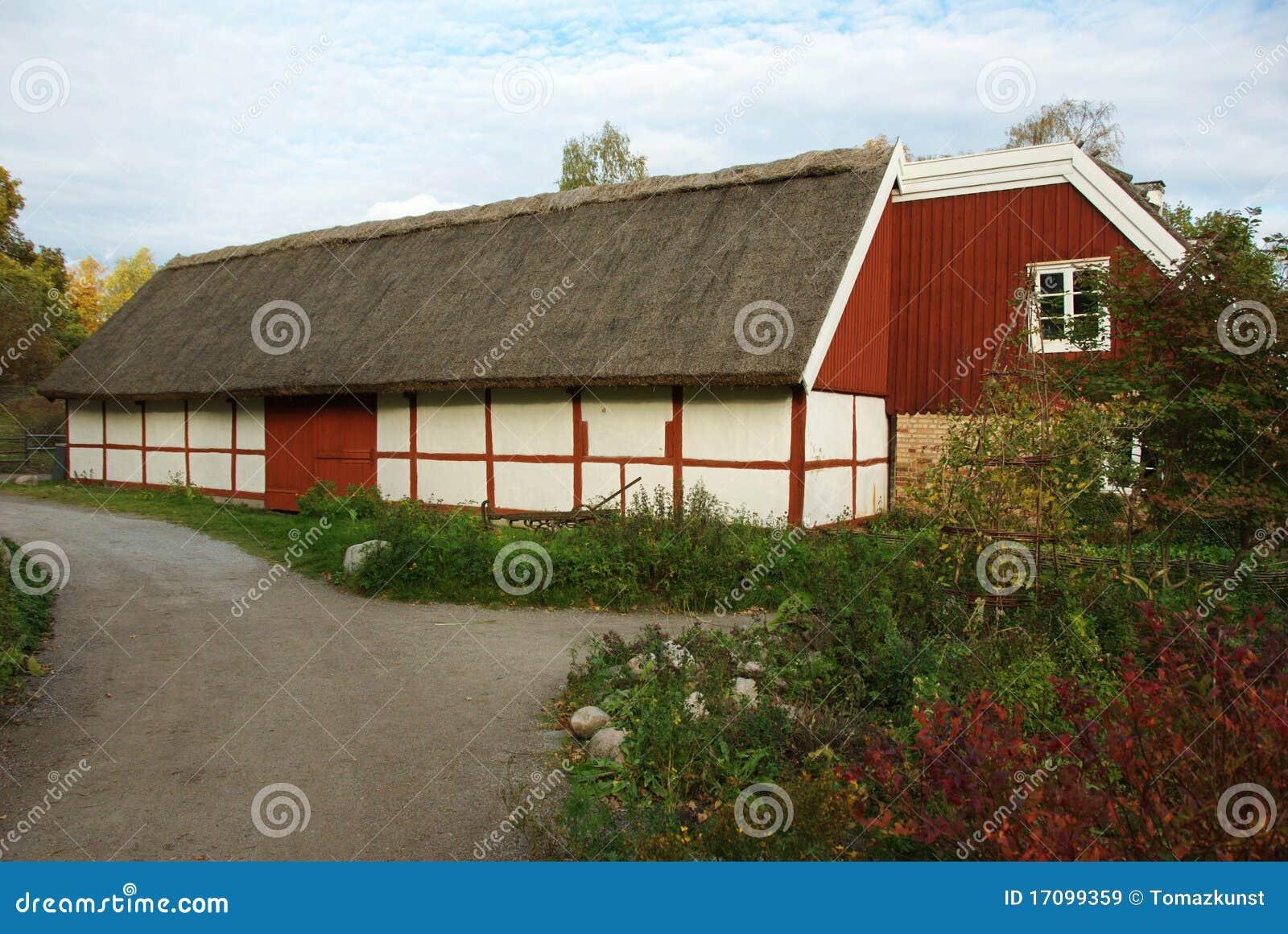 Skansen - Dorfhalle