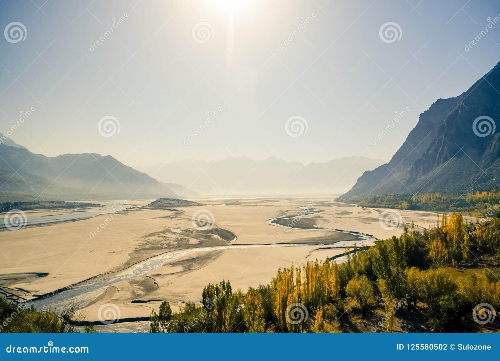 Skardu Landform  Gilgit-Baltistan, Pakistan  Stock Photo - Image of