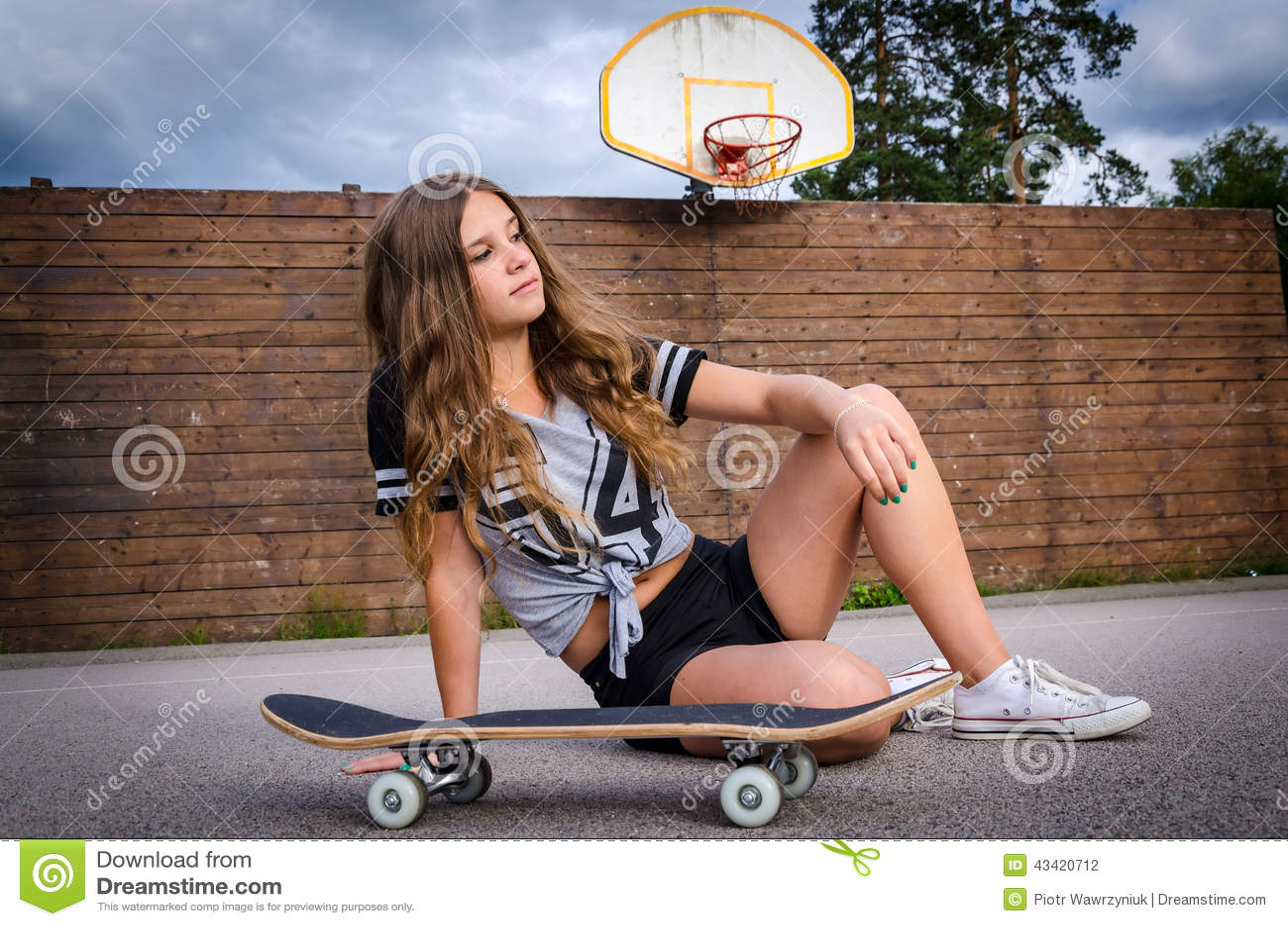 Skateboard έφηβη