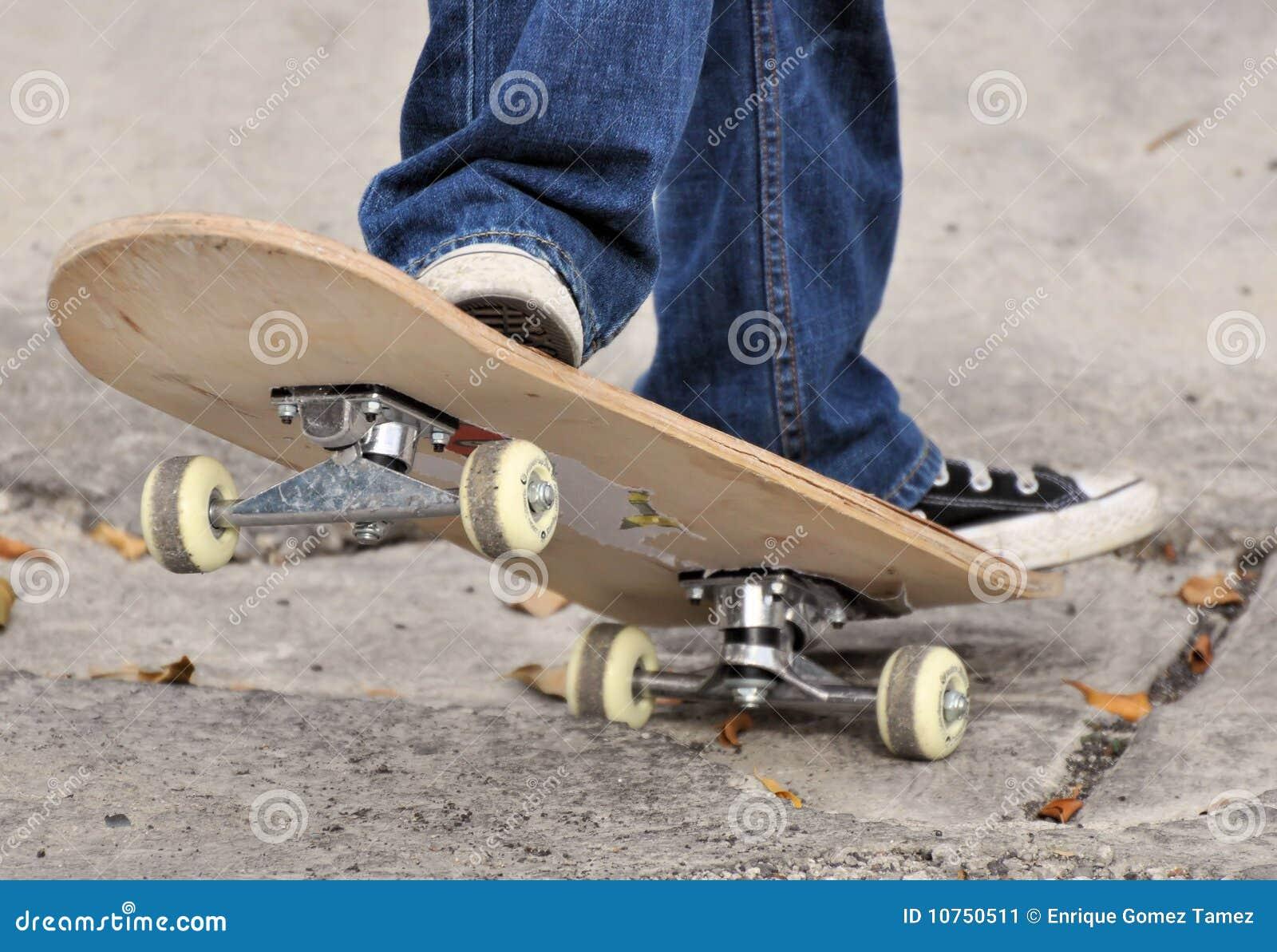 Skateboard detail
