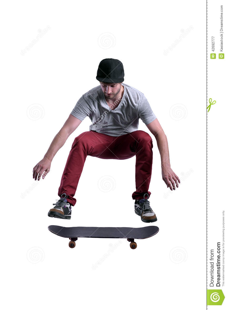 Skateboarder Jumping High Stock Image Image Of Athlete