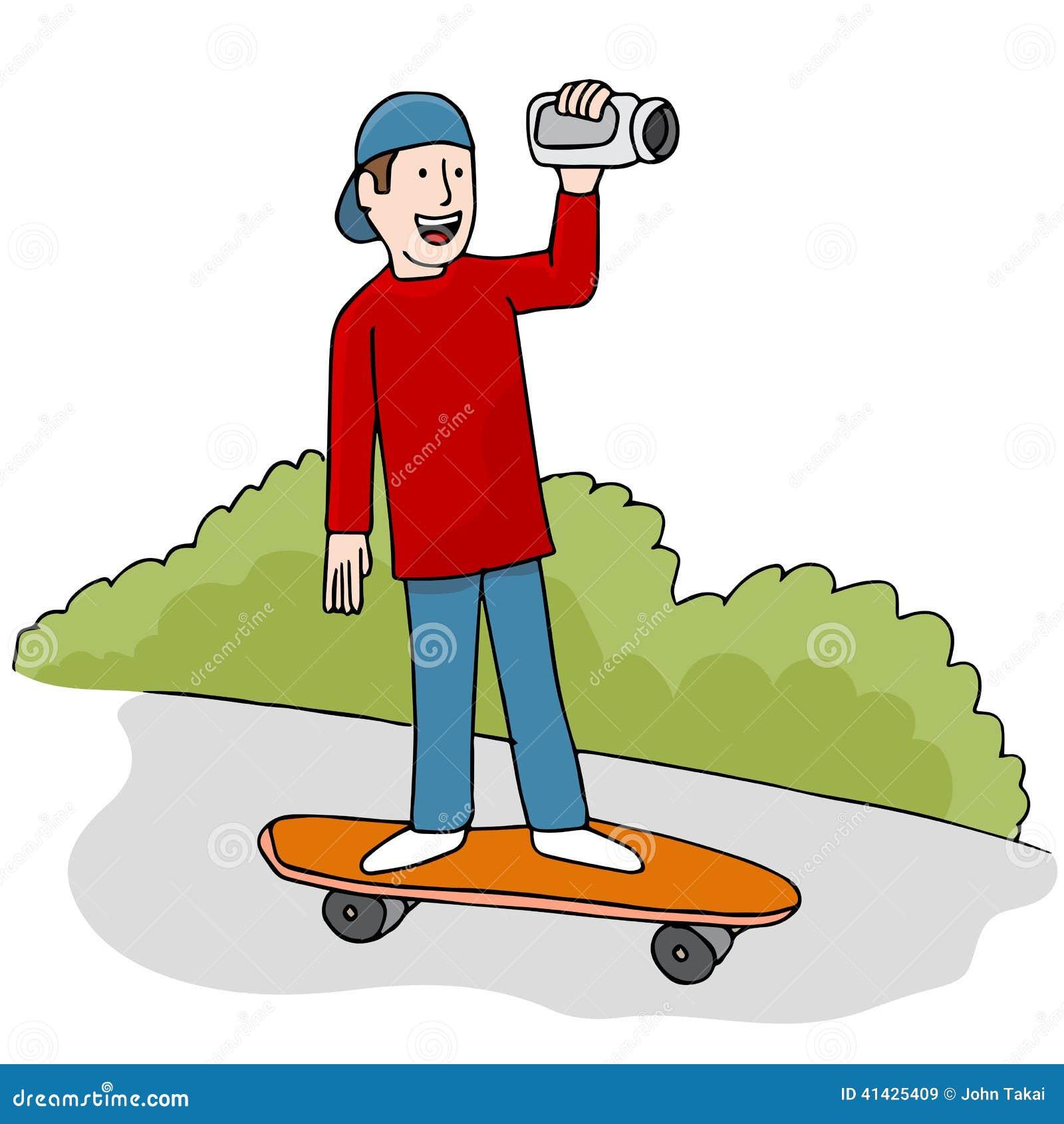 Skateboarding видео