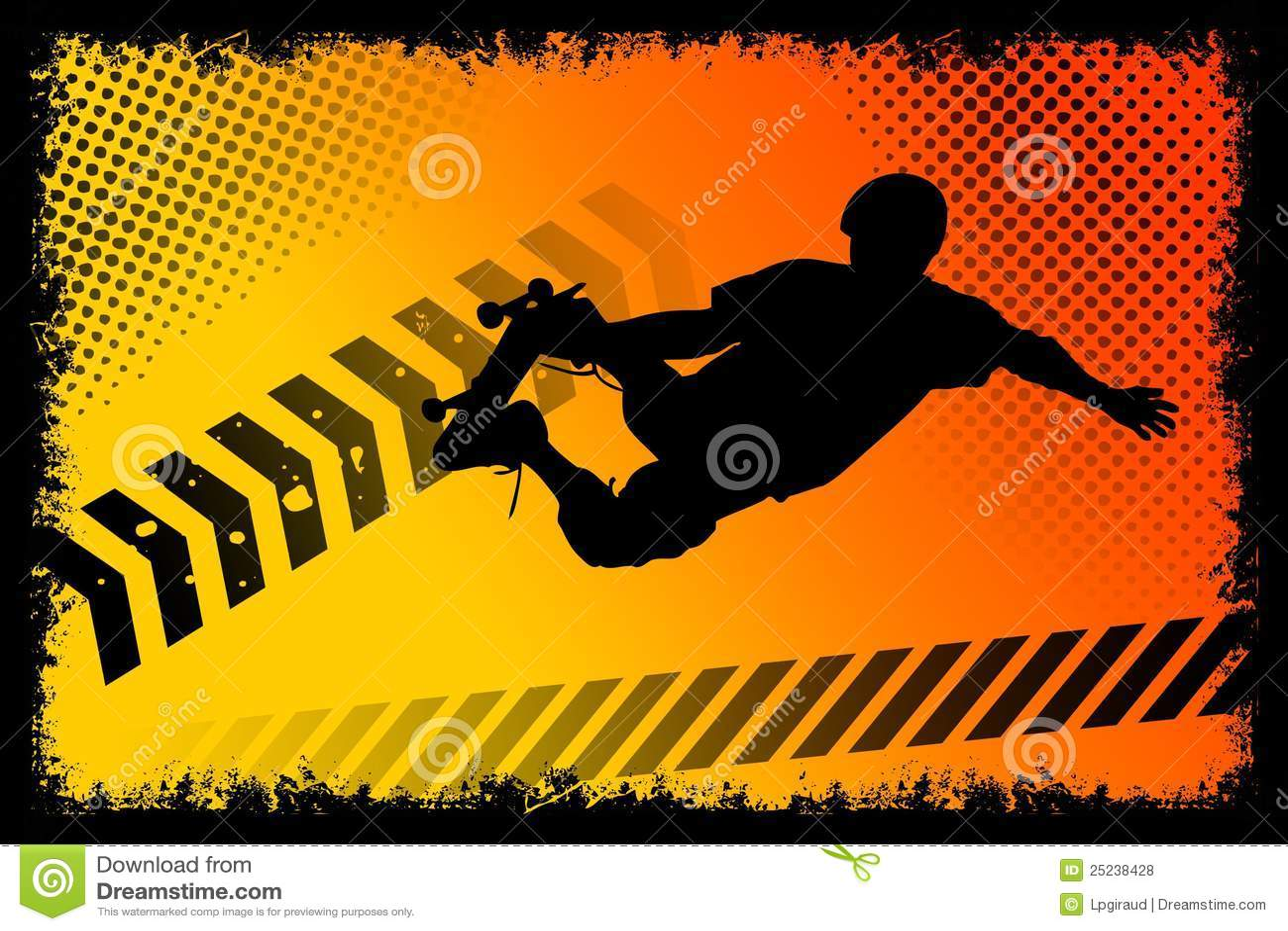 Skateboardplakat