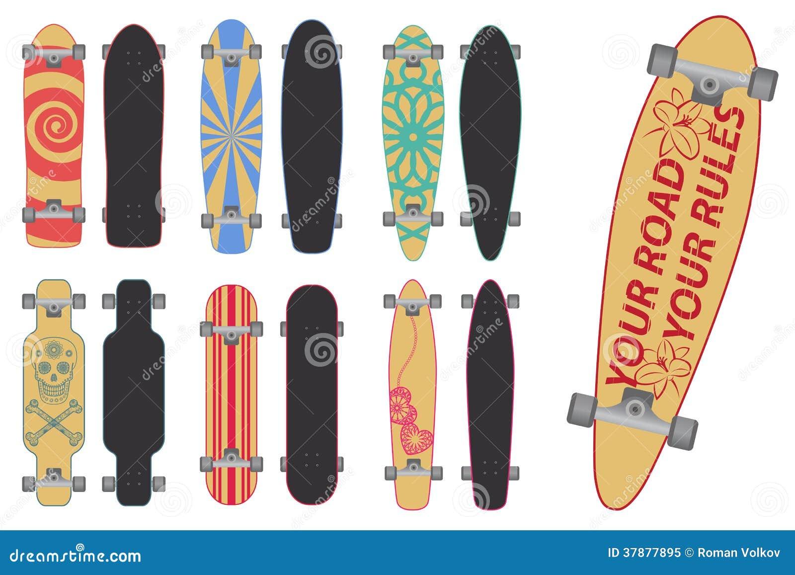Skateboards en Longboards