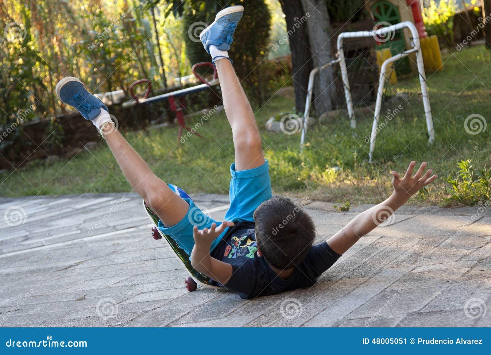 Skateboardunfall