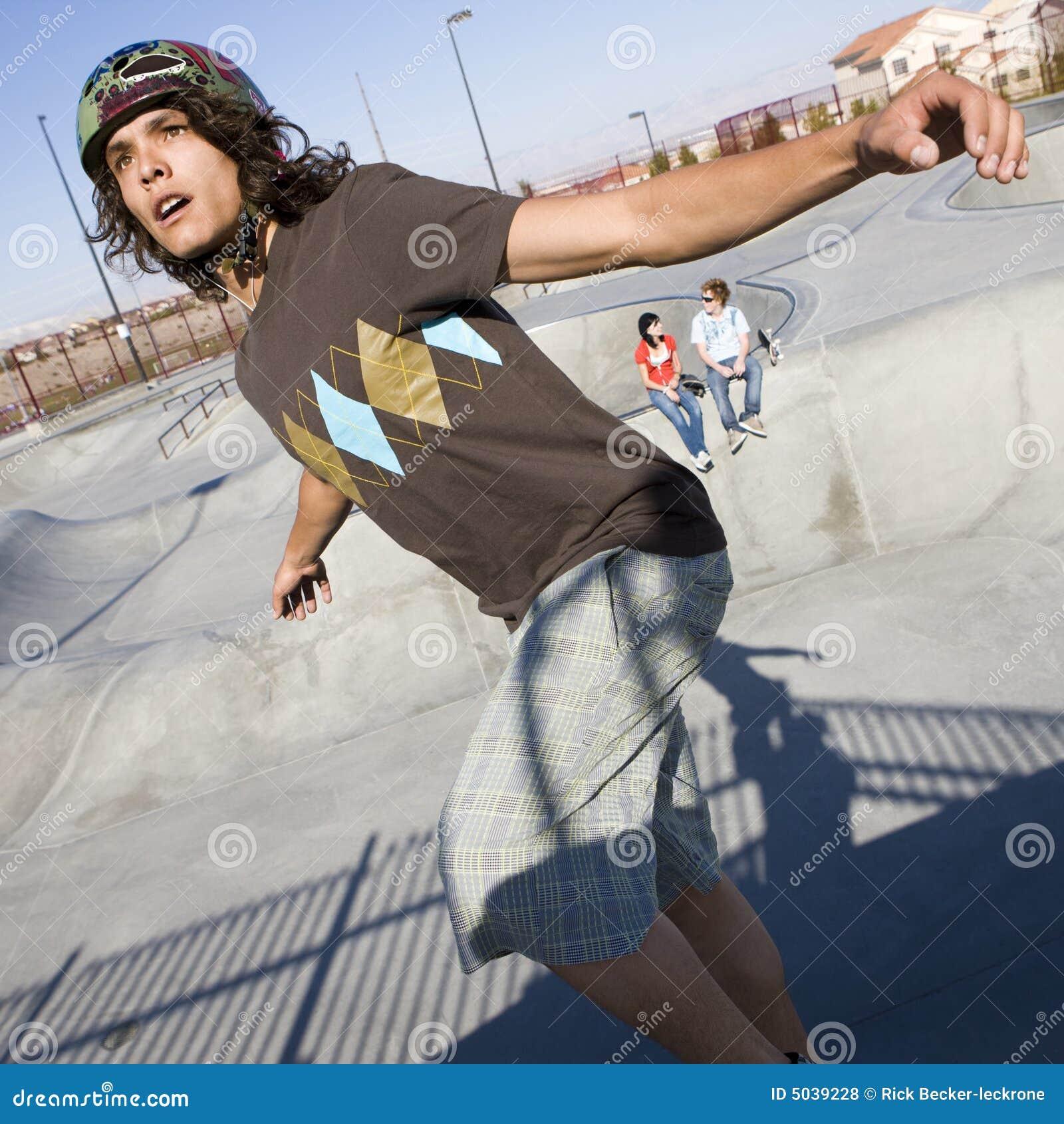 Skatepark sztuczki
