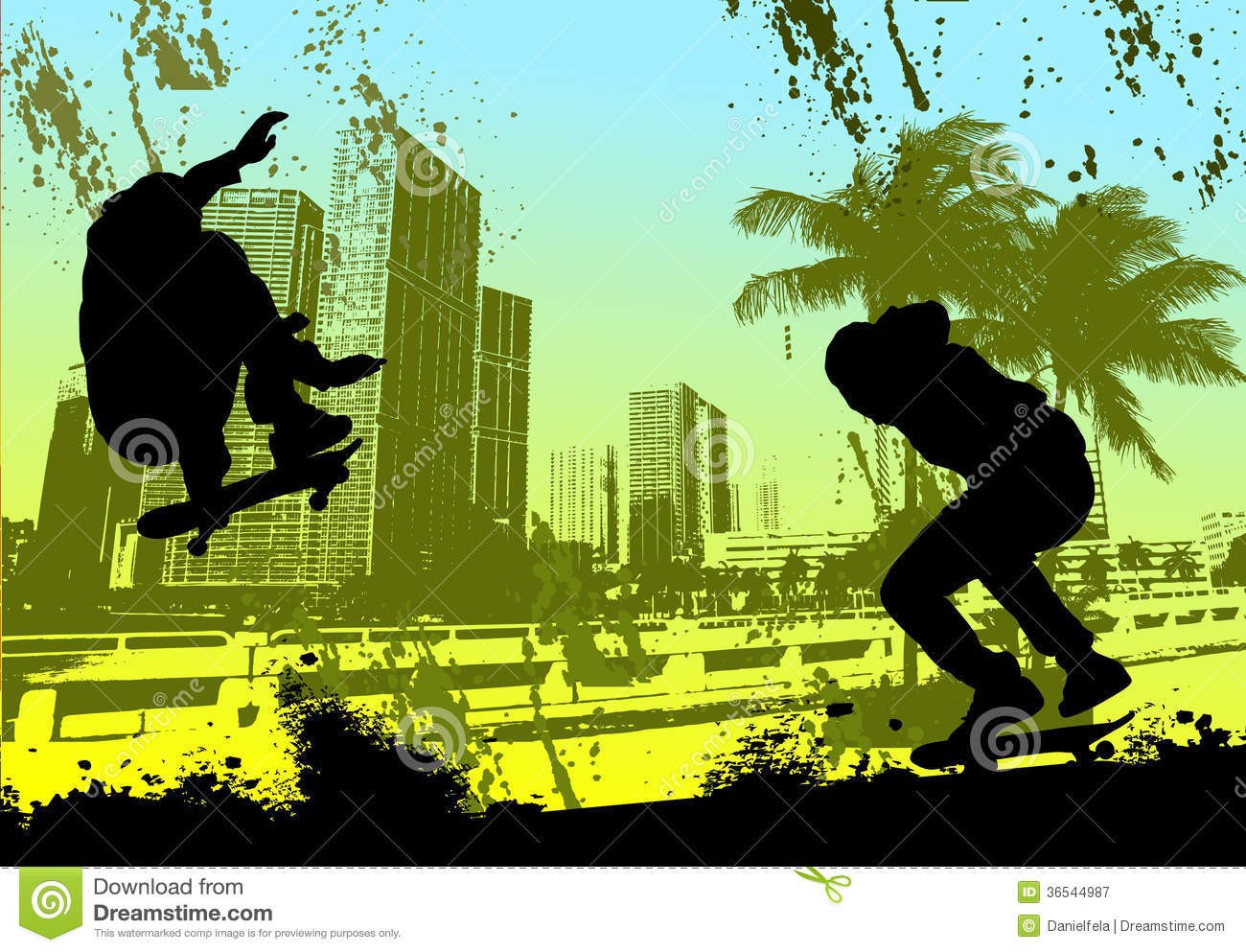 Skateboard clip art images skateboard stock photos amp clipart - Free Shipping Sports Silhouette Skateboarder Skateboarding Skater Urban City Royalty Free Stock Photography Image