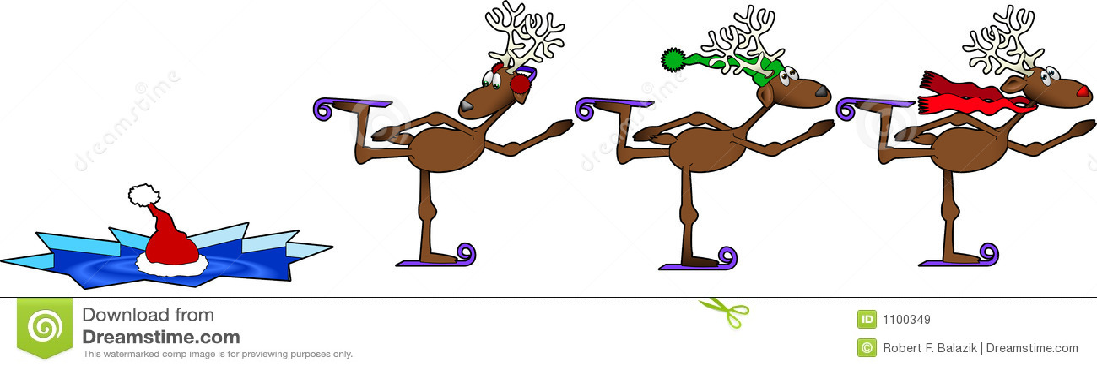 Skating_reindeer