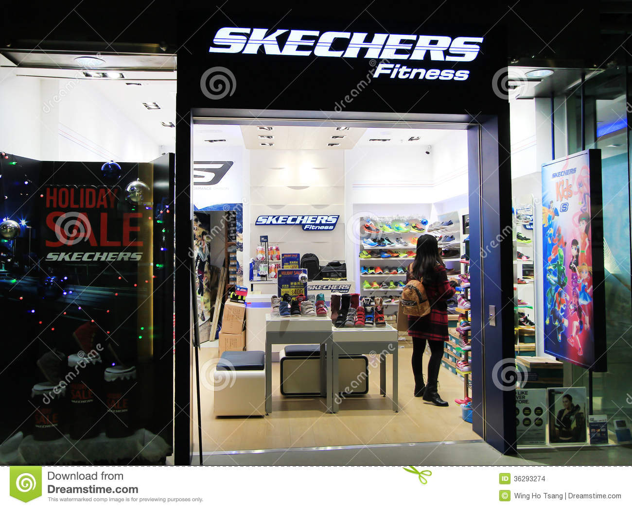 fb13cd572e13 Skechers shop in hong kong editorial stock image. Image of skechers ...
