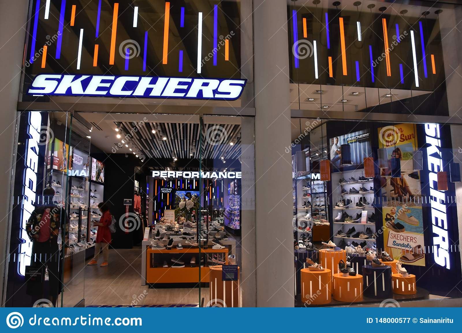 Skechers Store At Oculus Of The Westfield World Trade Center