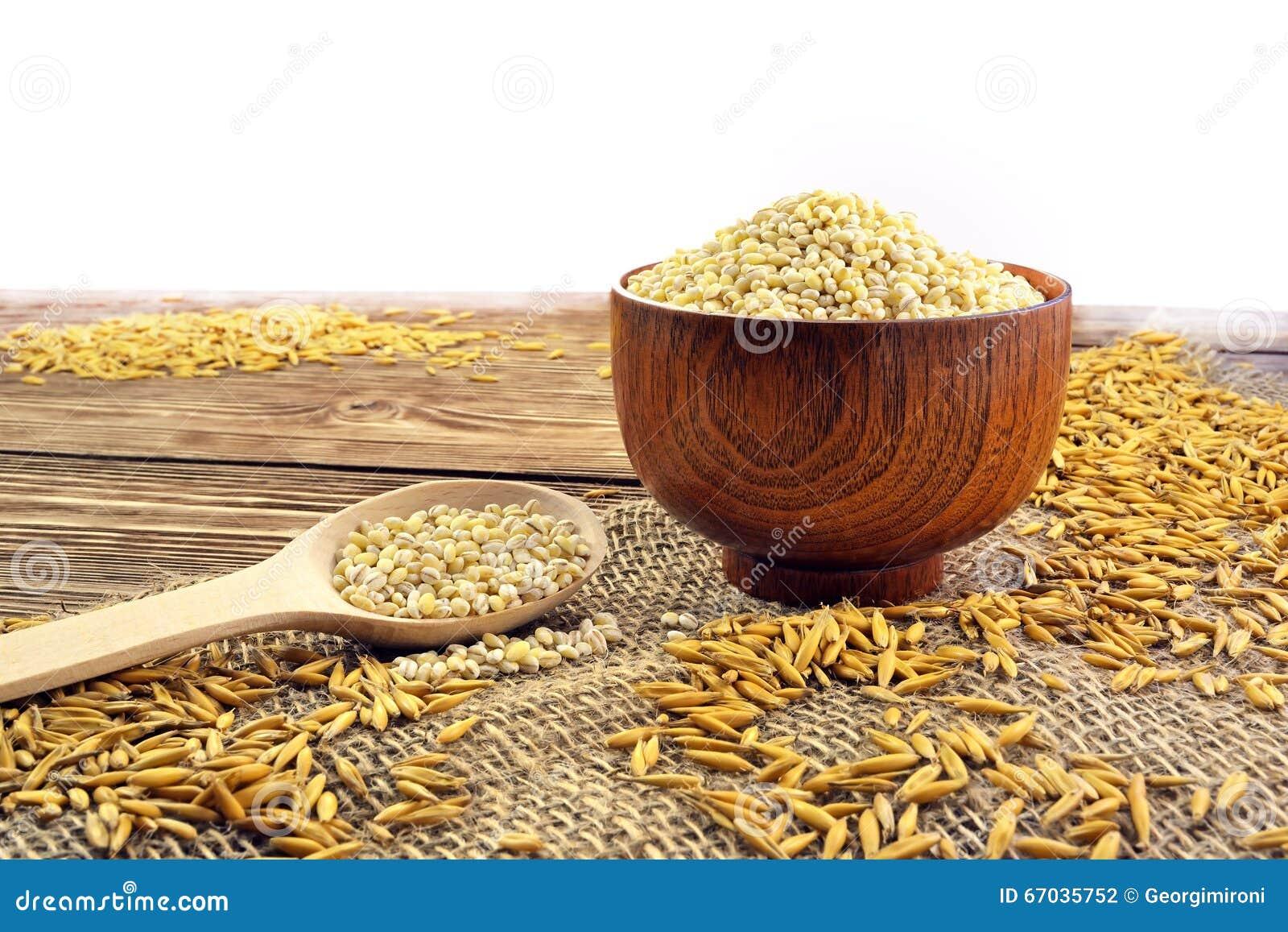 Sked med korn