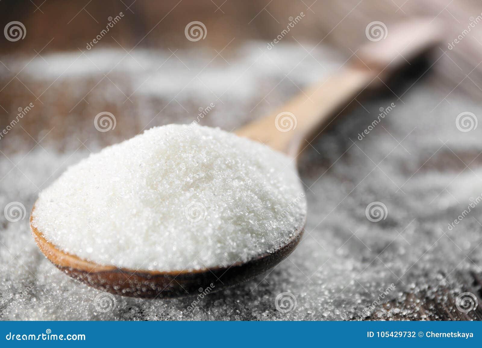 Sked med vitt socker
