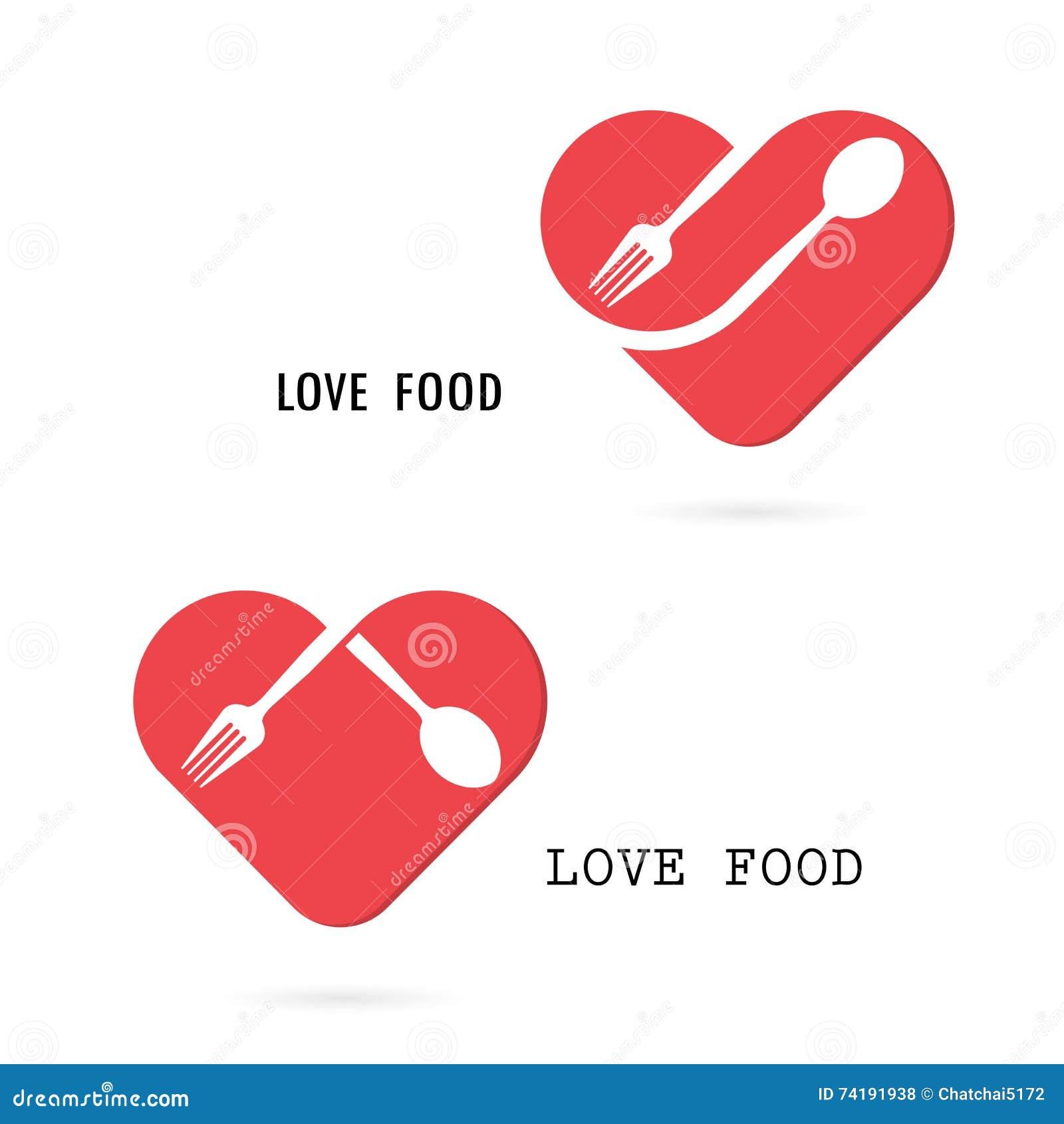 Skeda och dela sig logoen med den röda beståndsdelen för designen för hjärtaformvektorn