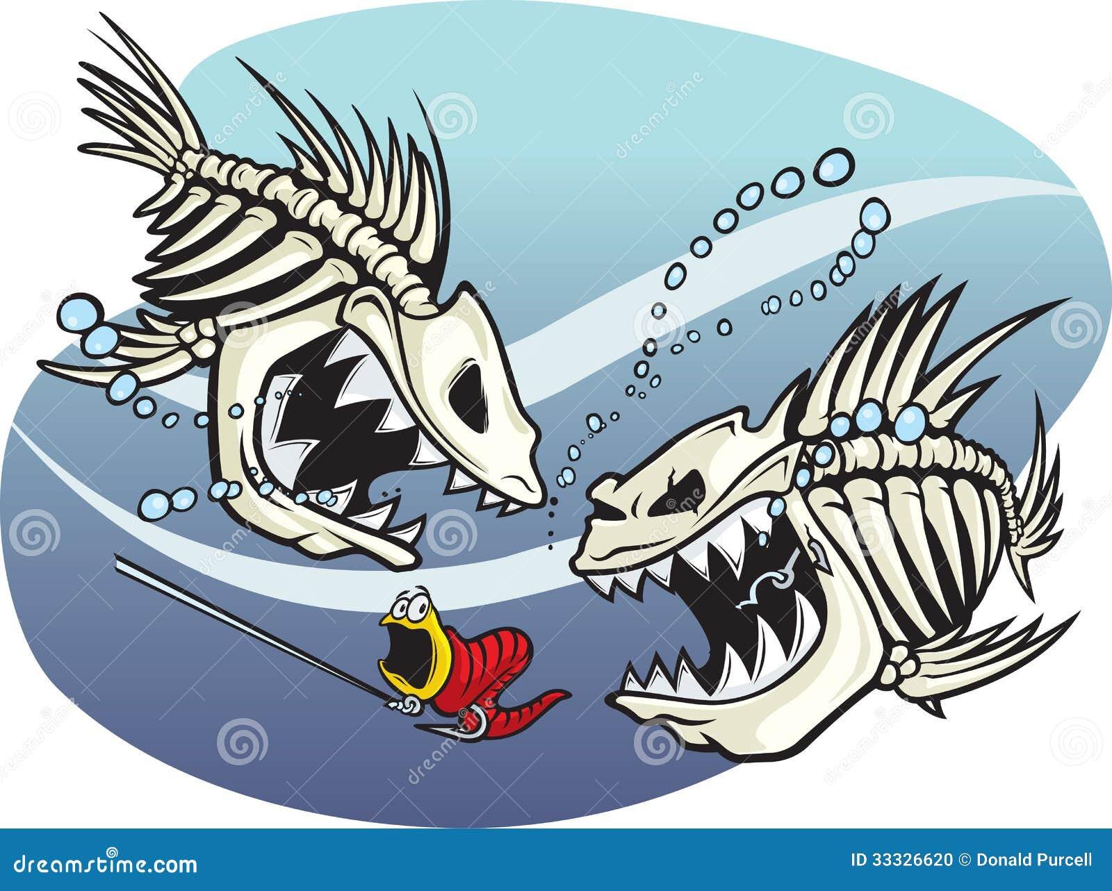 skelefish stock photo