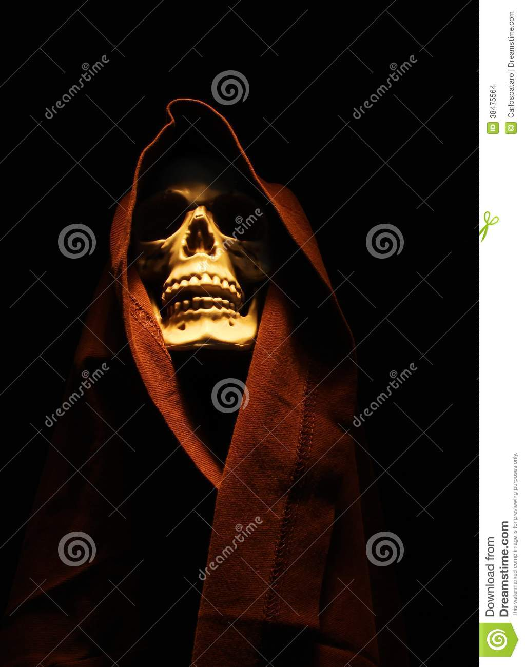 Download Skeleton stock photo. Image of devil, cross, christ, dark - 38475564