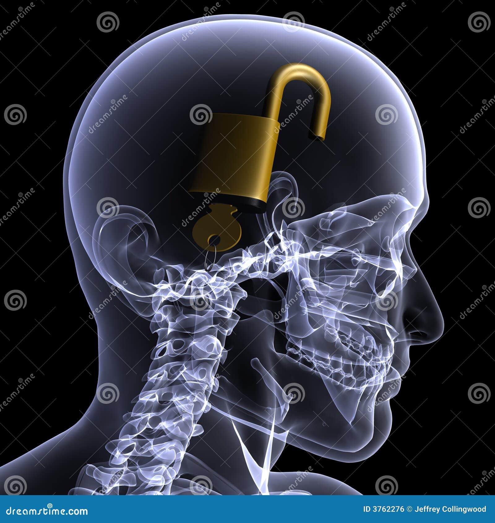 Skeleton X-Ray - Unlocked Mind