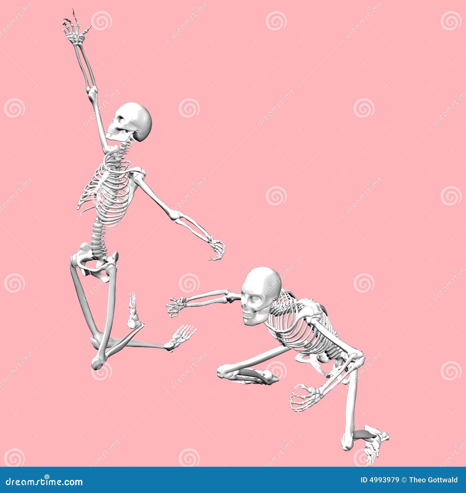 Skeleton Tanz