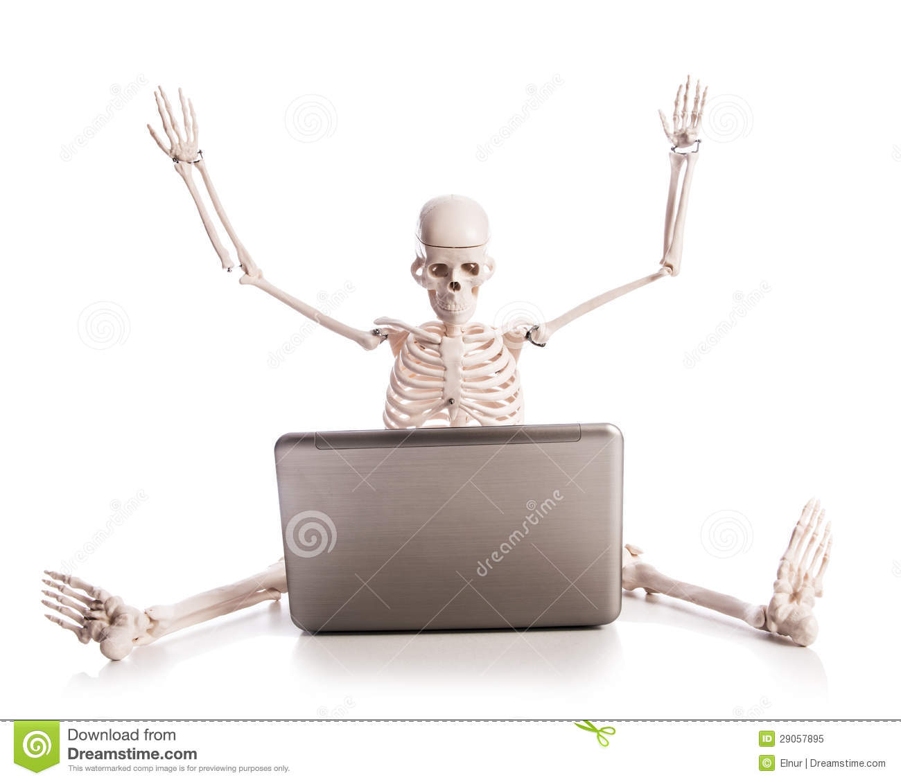 skeleton working on laptop royalty free stock photo happy holidays clip art pictures happy holidays clip art for email