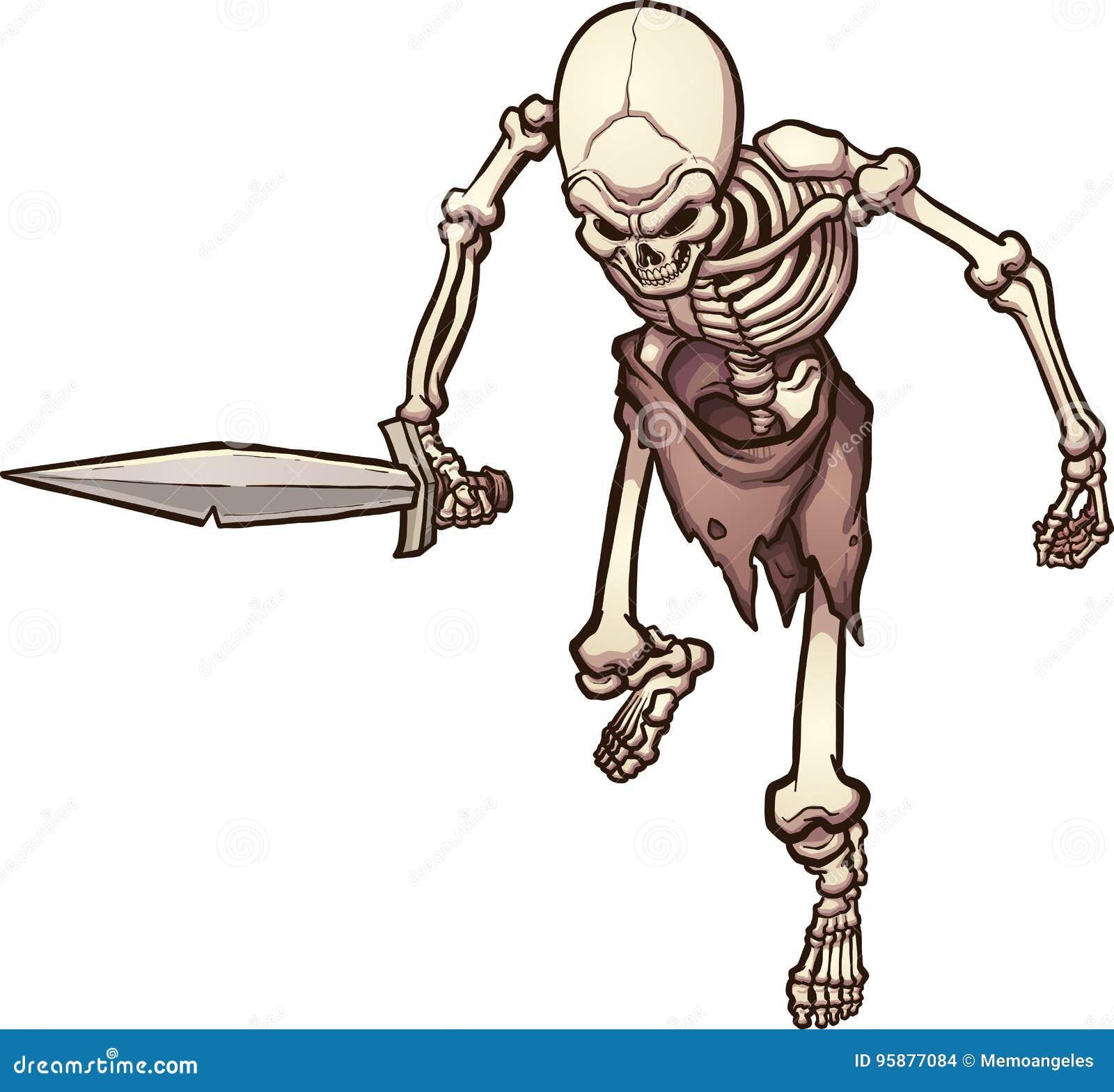 Skelett- krigare