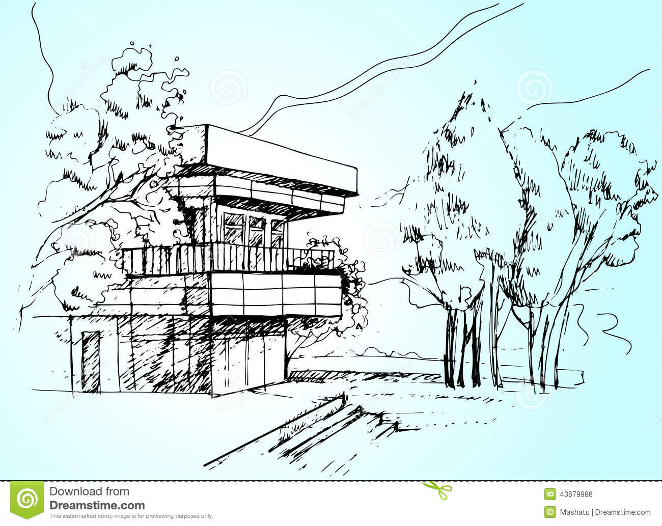 House Architecture Sketch sketch design of house royalty free stock image - image: 36944826