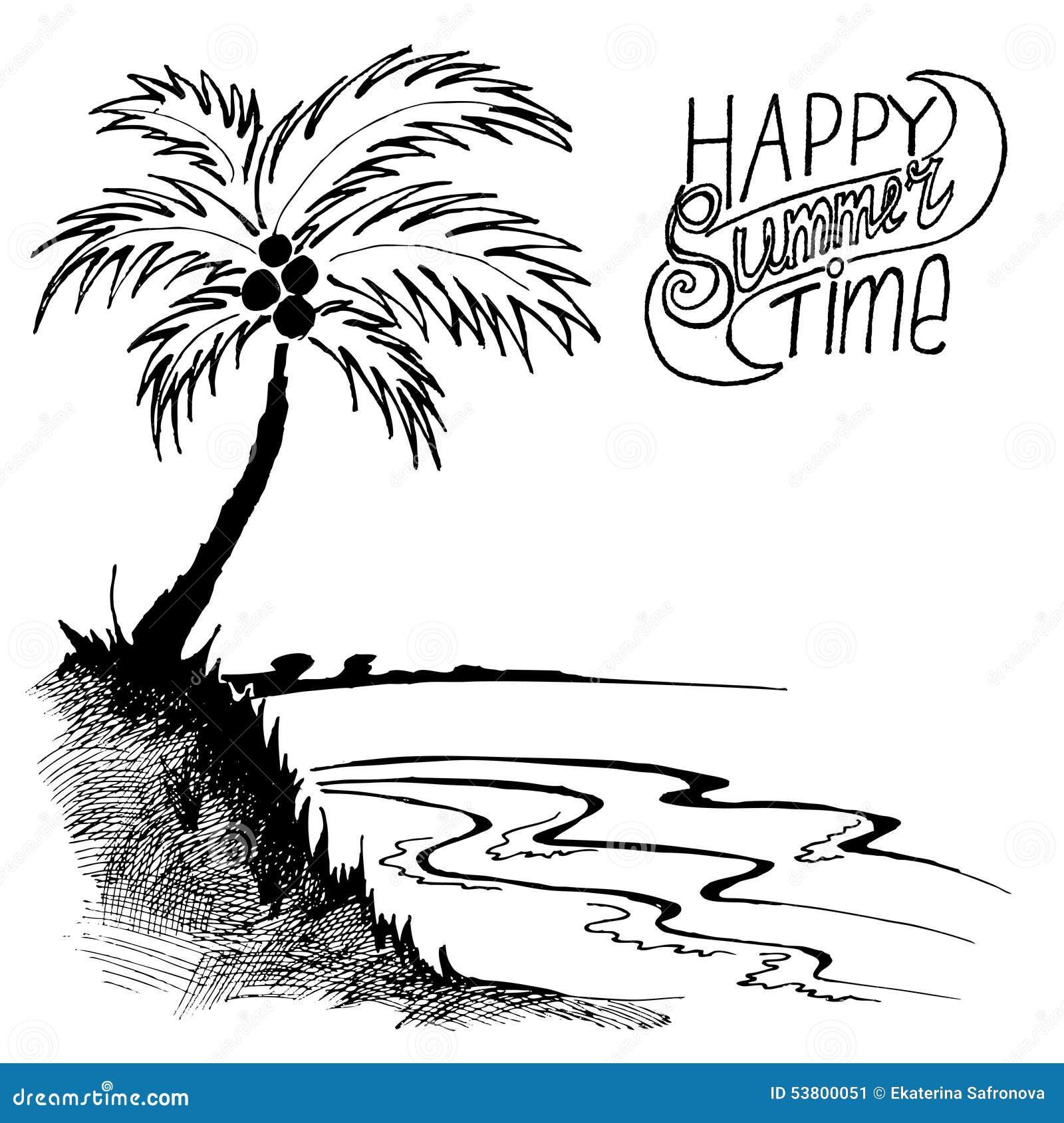 Рисунок пальмы